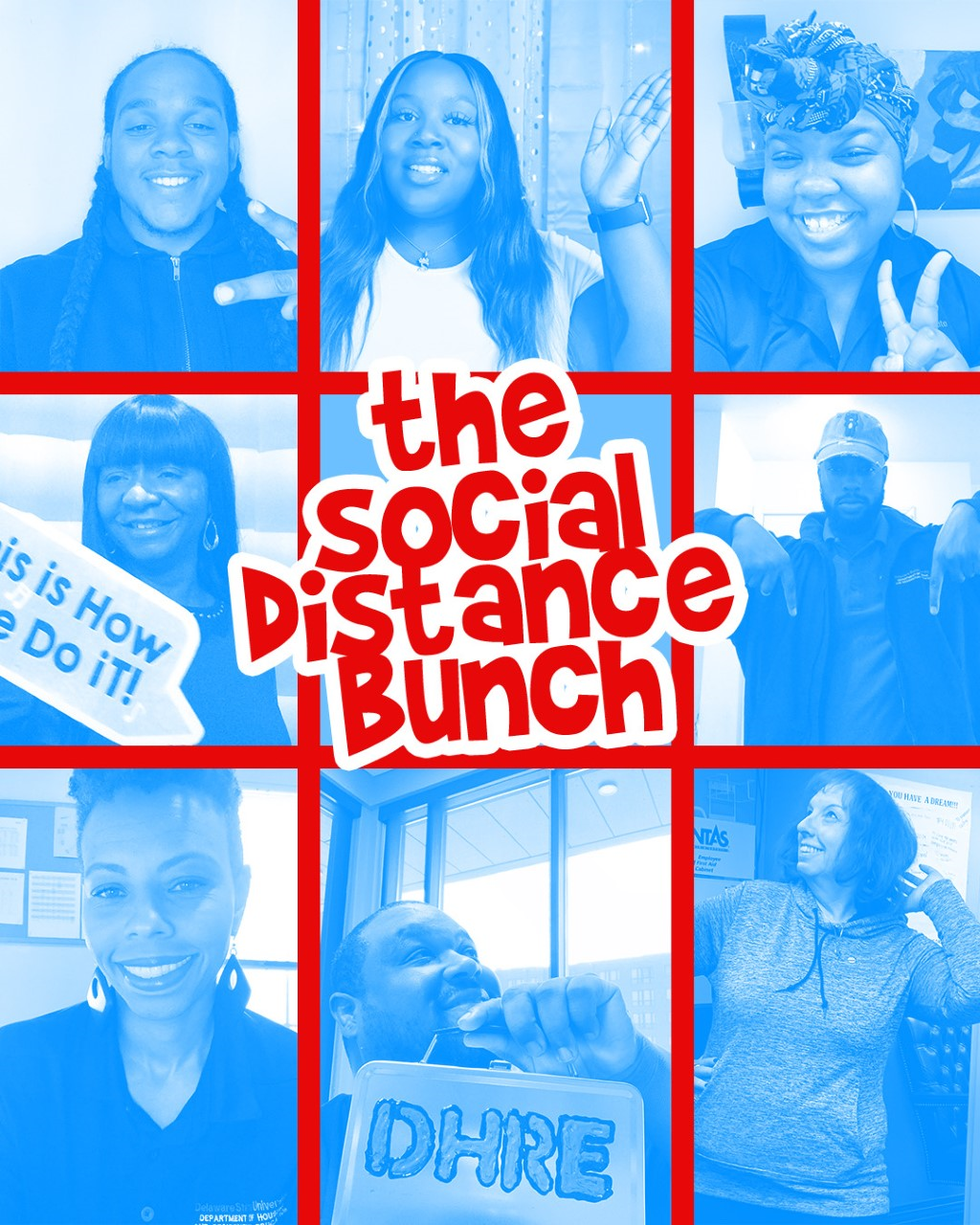 DHRE Social Distance Bunch