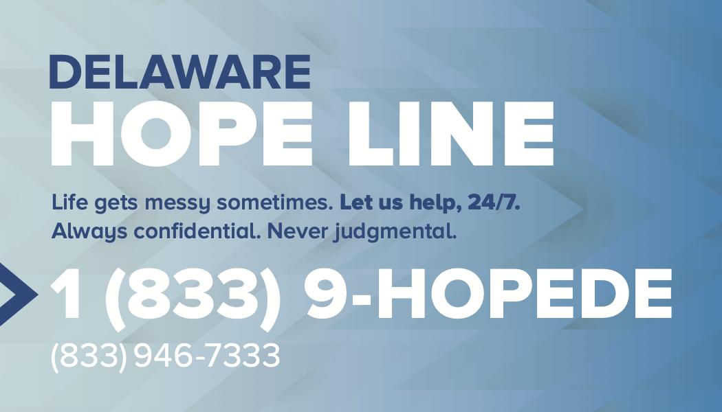 hopeline card