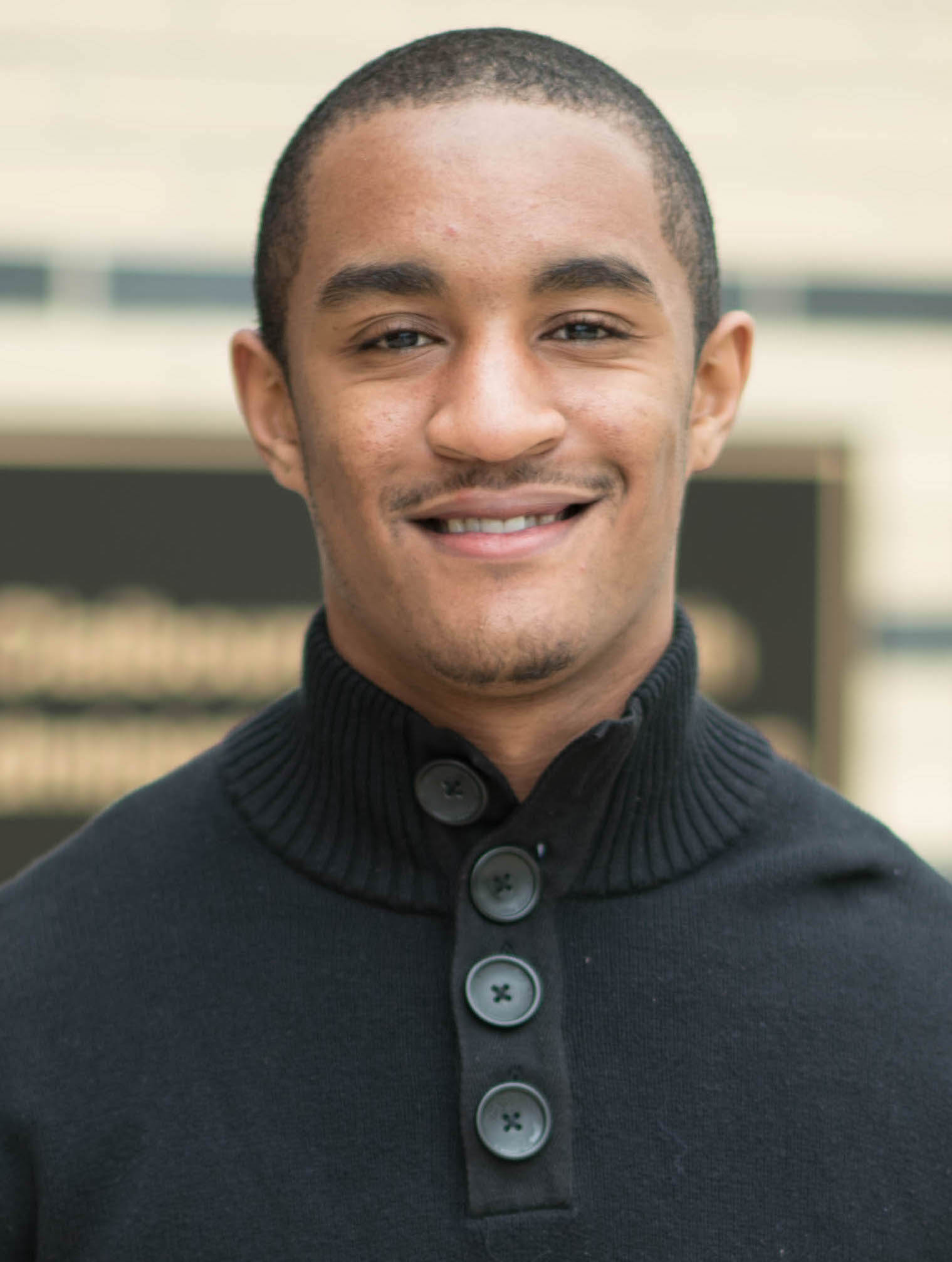 Christopher Williams, Mass Communications Major, 2015