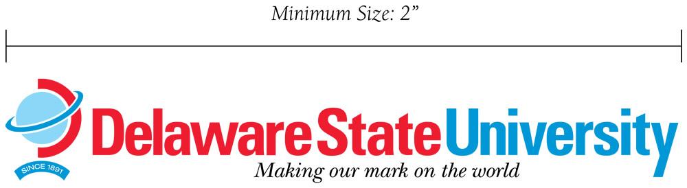 logo type size requirements - horiz