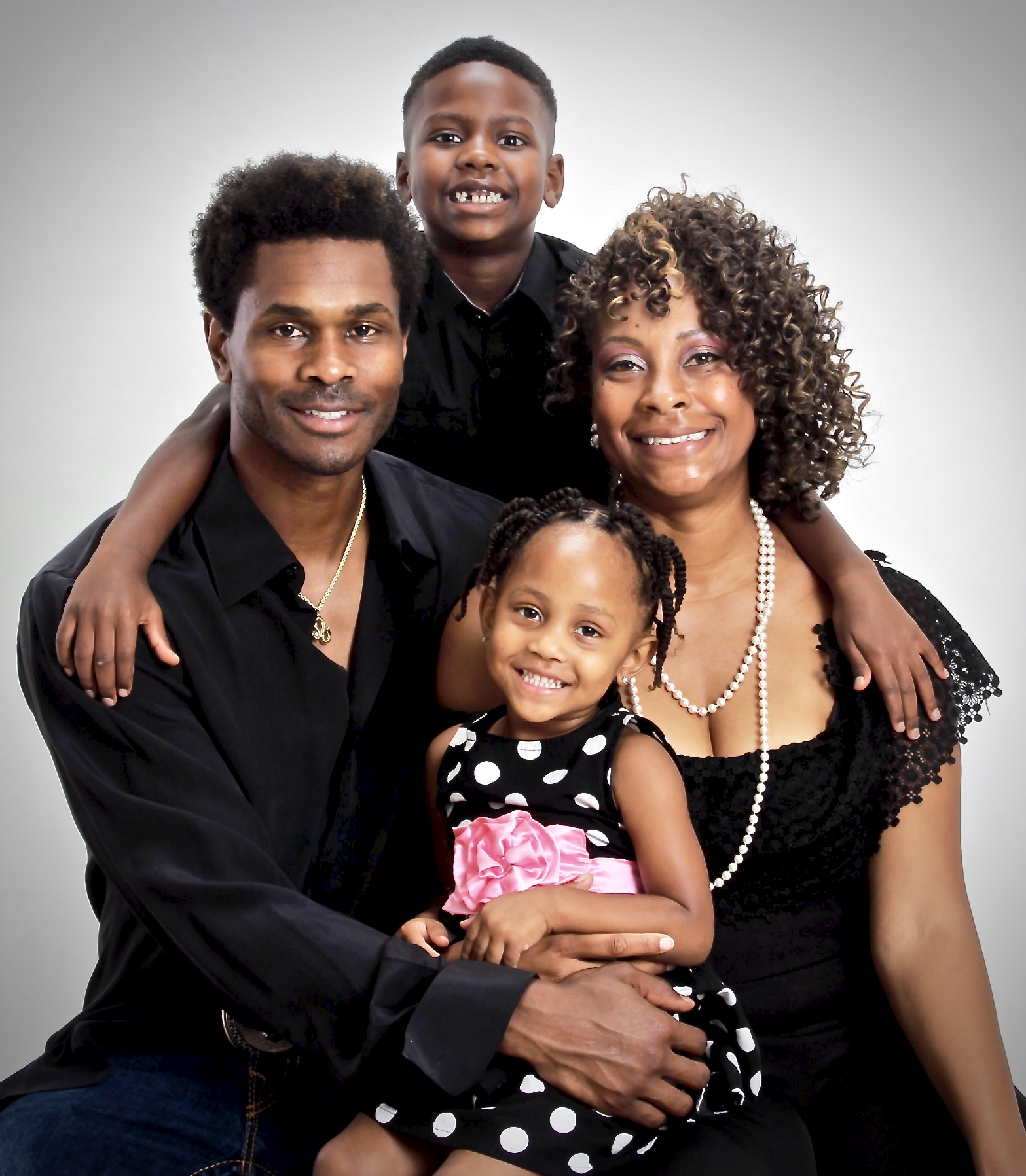 Darnerien McCants and Family