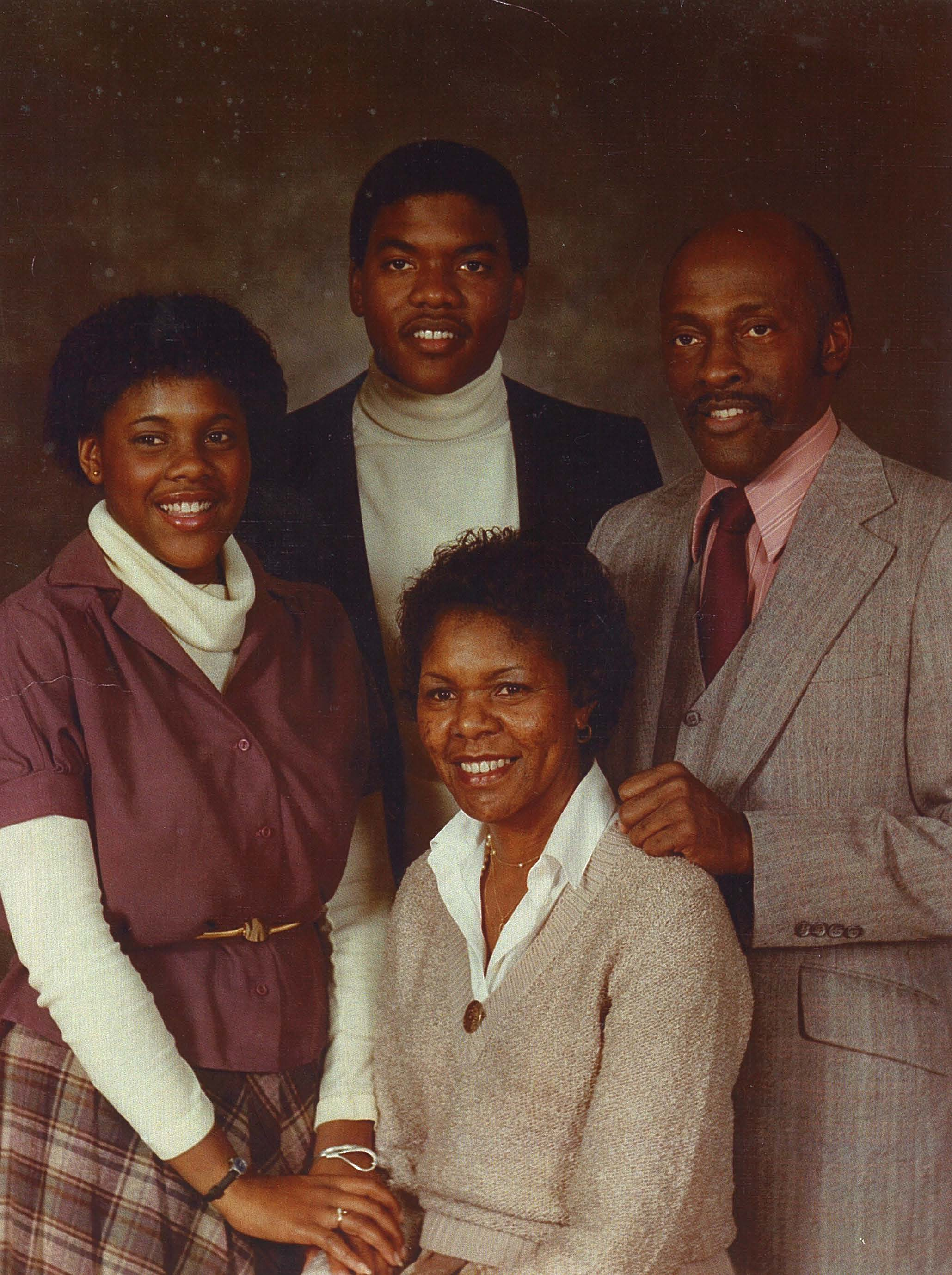 Frederick and Chestene Coverdale and family