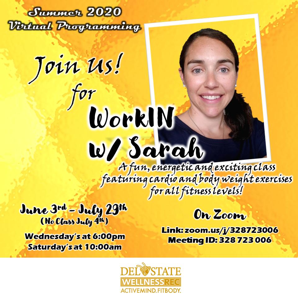 WorkIN w/ Sarah