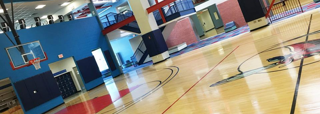 Indoor Basketball/Volleyball Courts