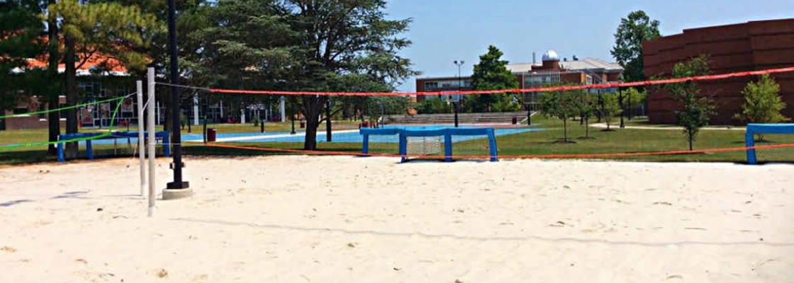Outdoor Sand Volleyball Courts