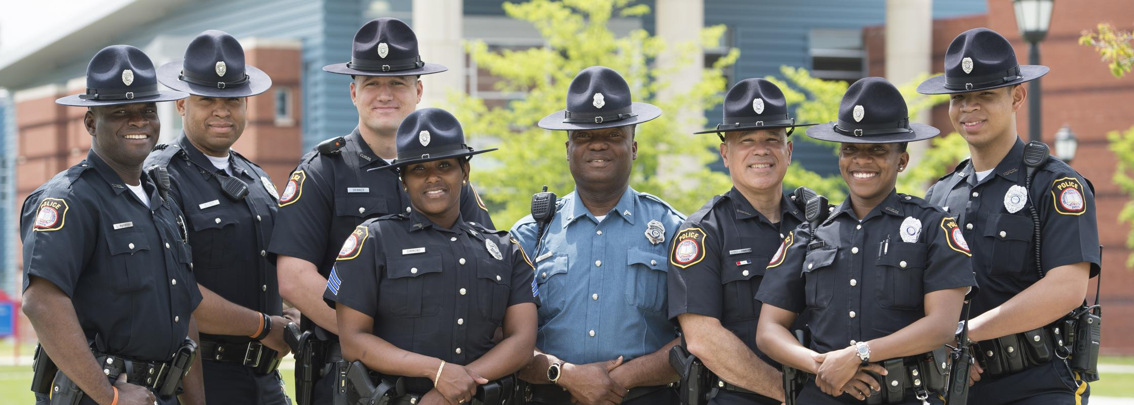 DSU Police Department Staff