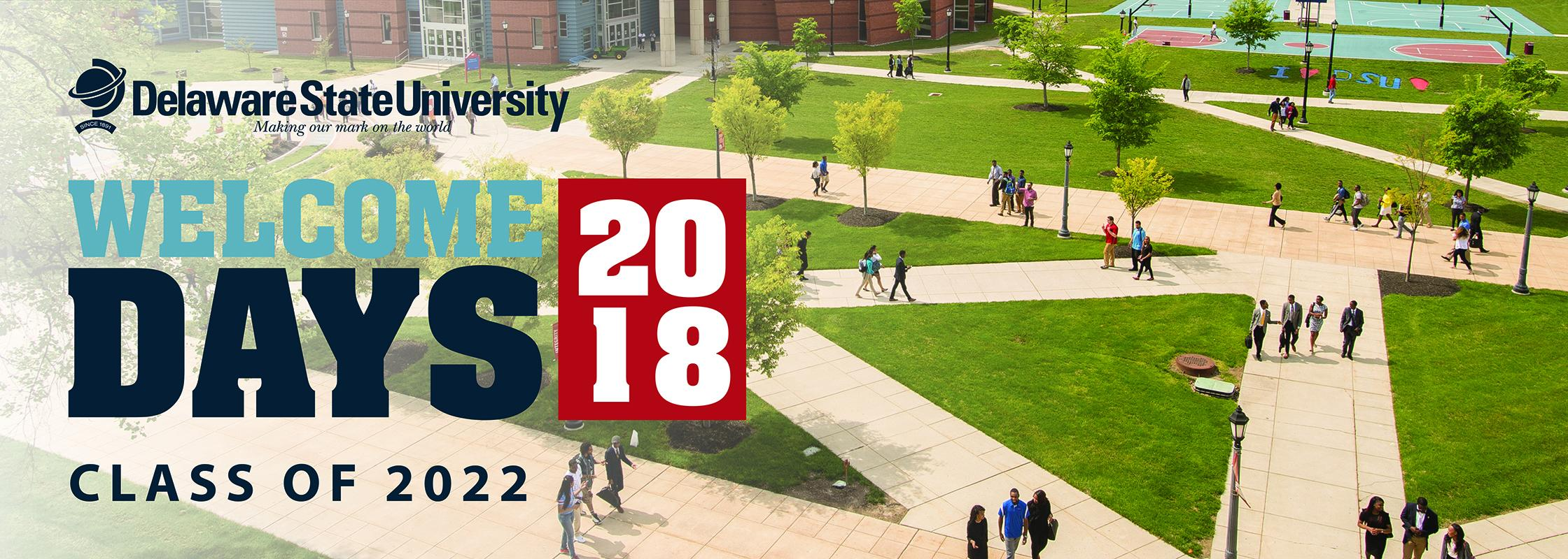 Delaware State University Welcome Days 2018