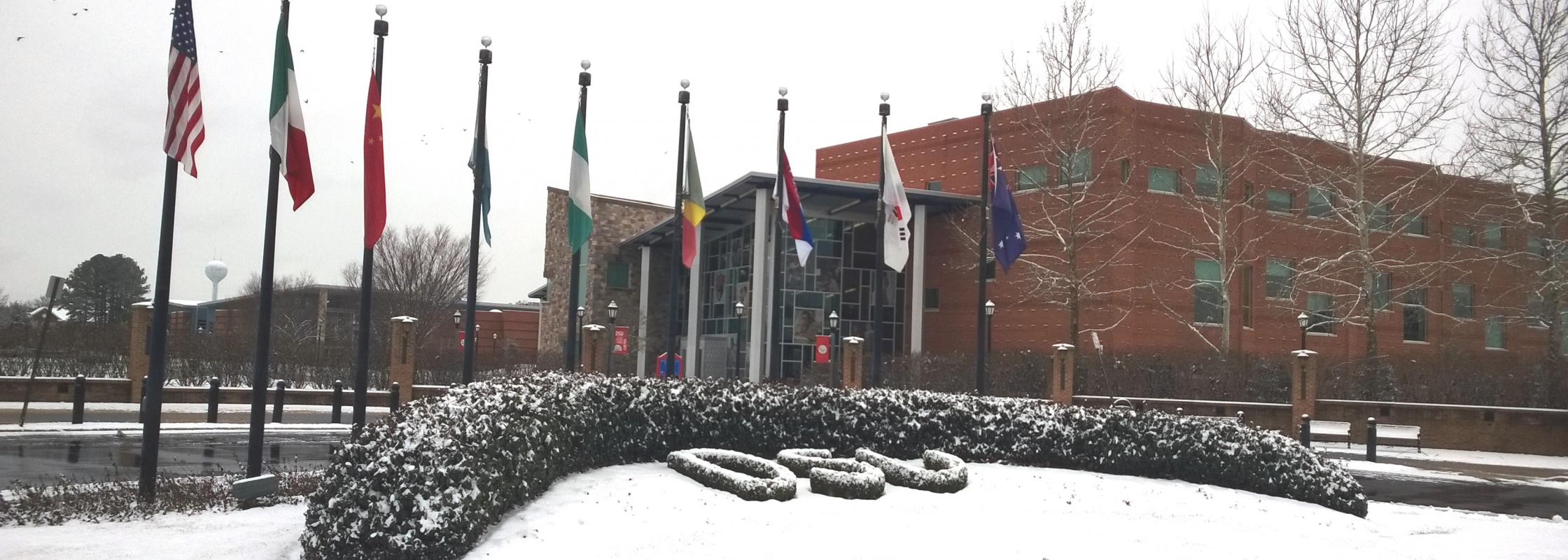 Snow at DSU