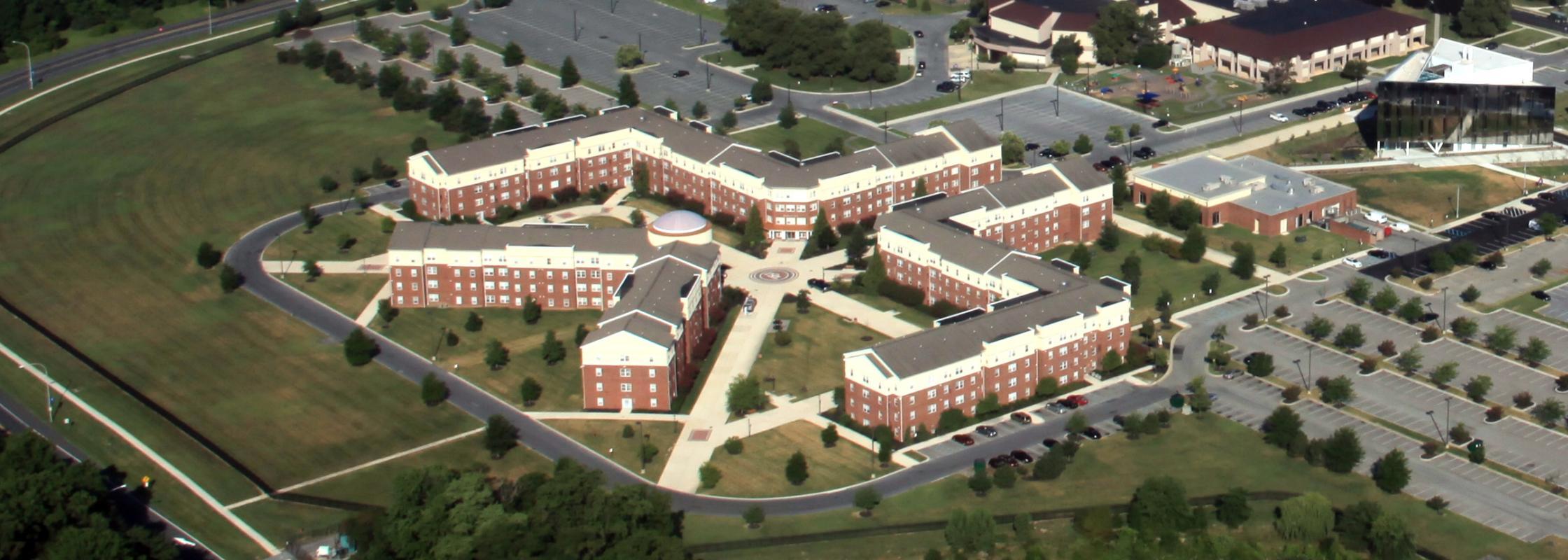 University Village aerial photo