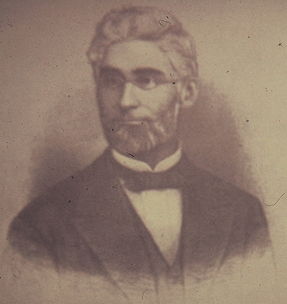 Charles B. Lore, the inaugural Board of Trustees president