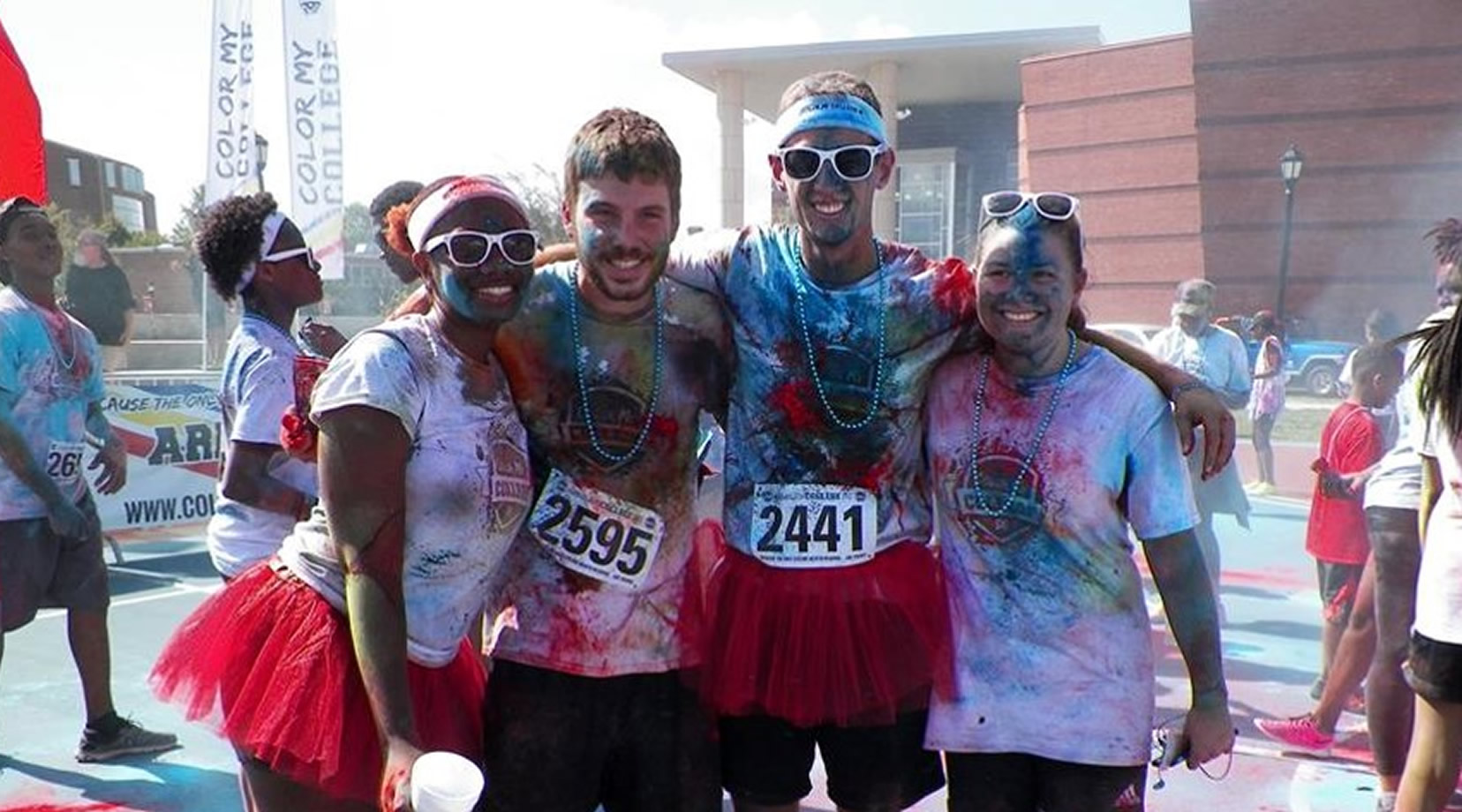 Fun Times at the Hornet Hustle 5K Color Run