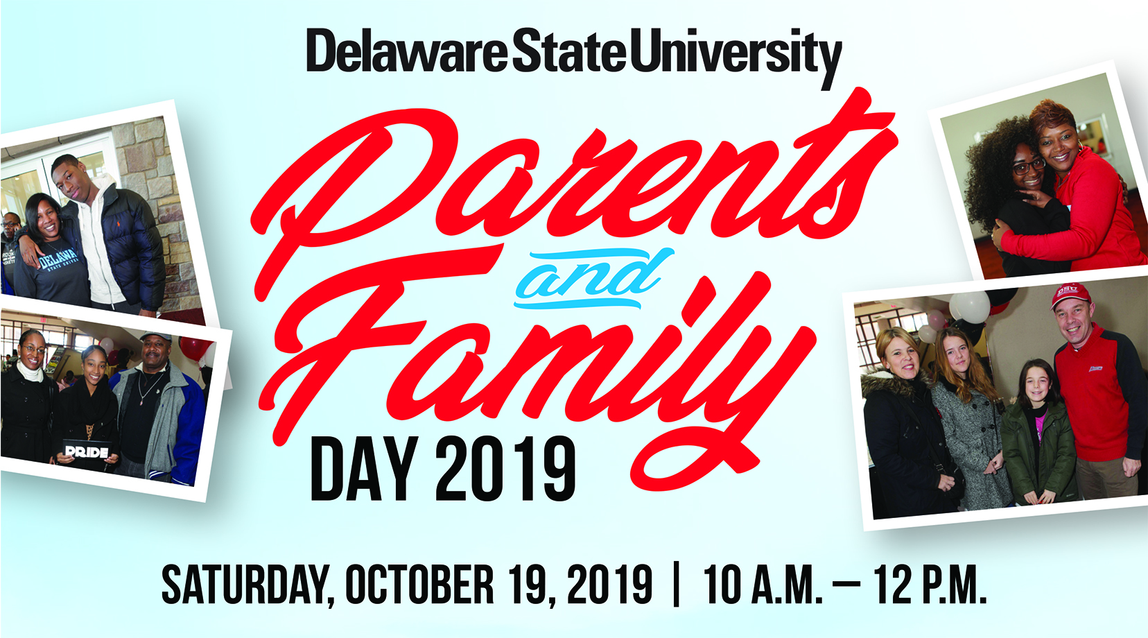 Join us for Parents and Family Day