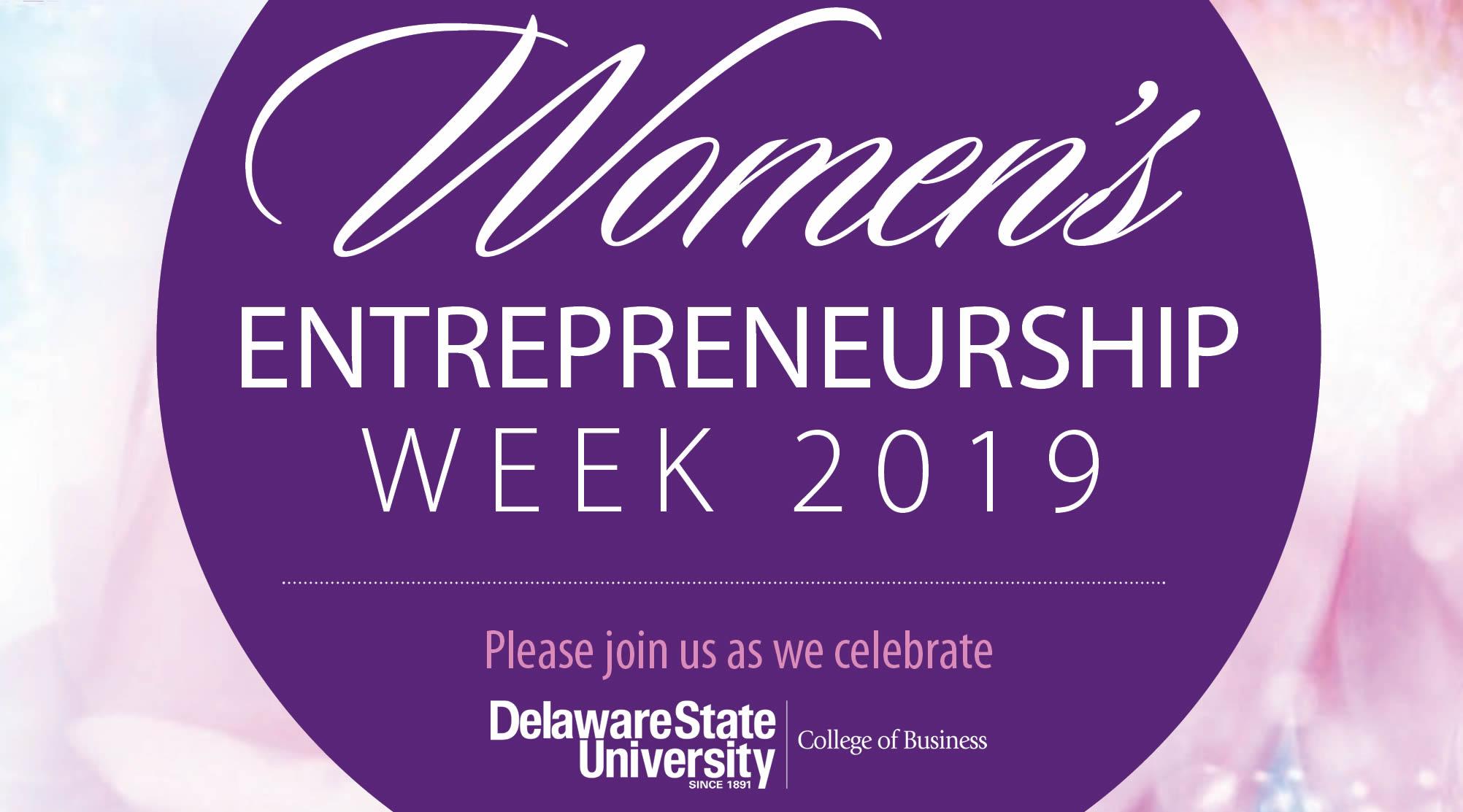 Women's Entrepreneurship Week at Delaware State University