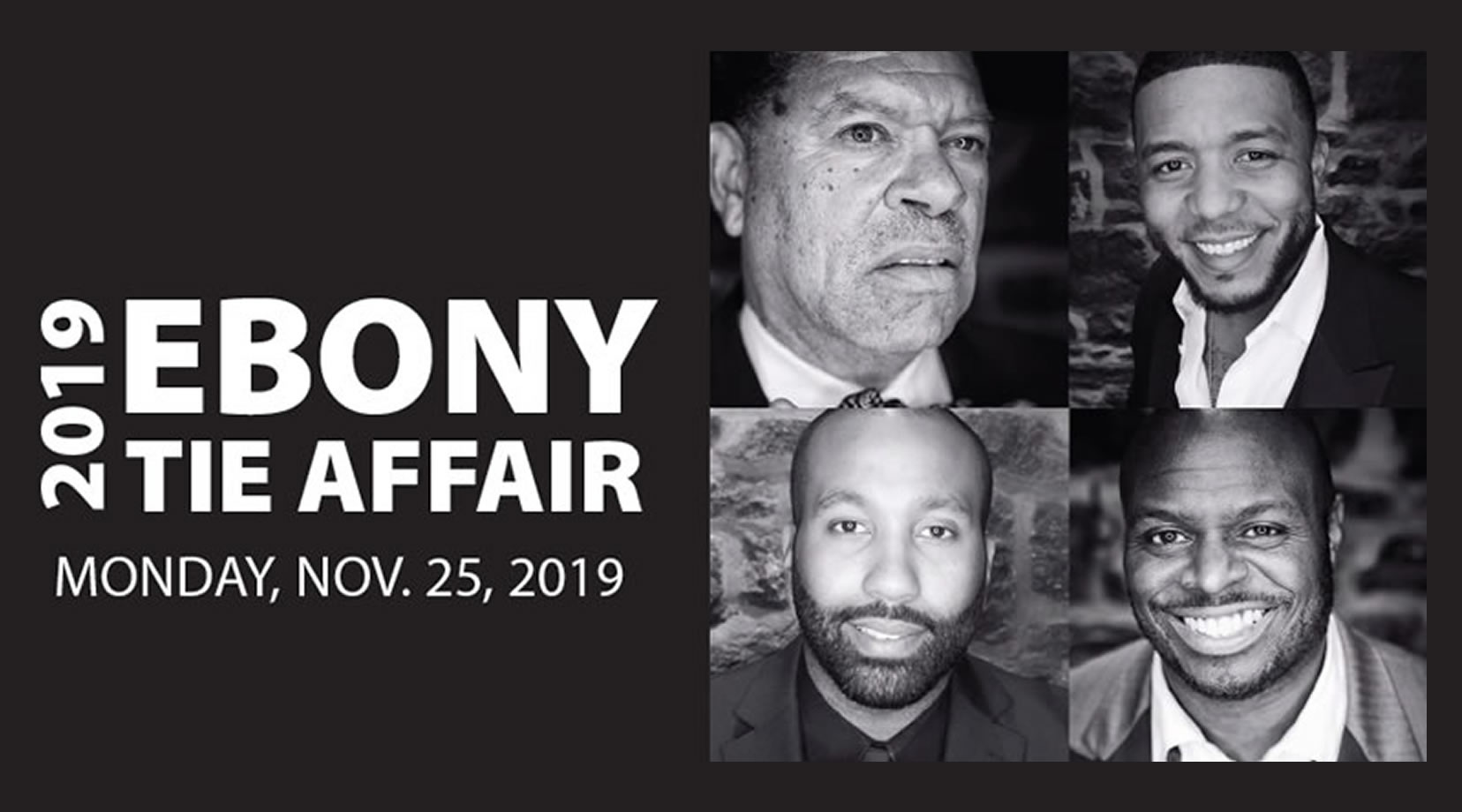 The Ebony Tie Affair has become the signature event celebrating the contributions of African-American men throughout the Delaware Valley.
