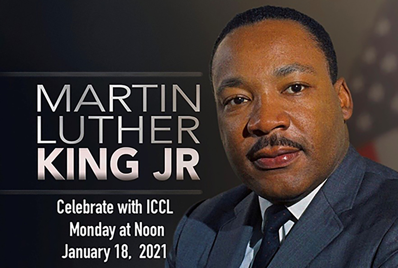 This year's Martin Luther King National Holiday Program, normally held on campus as a collaboration between the University and the Inner City Cultural League of Dover, will be presented as a virtual program by the ICCL at noon on Monday, Jan. 18.
