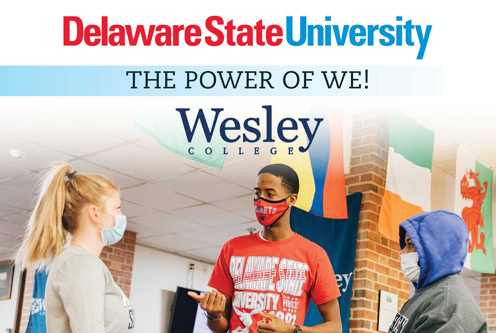 The Power of WE: Wesley College joining Delaware State University