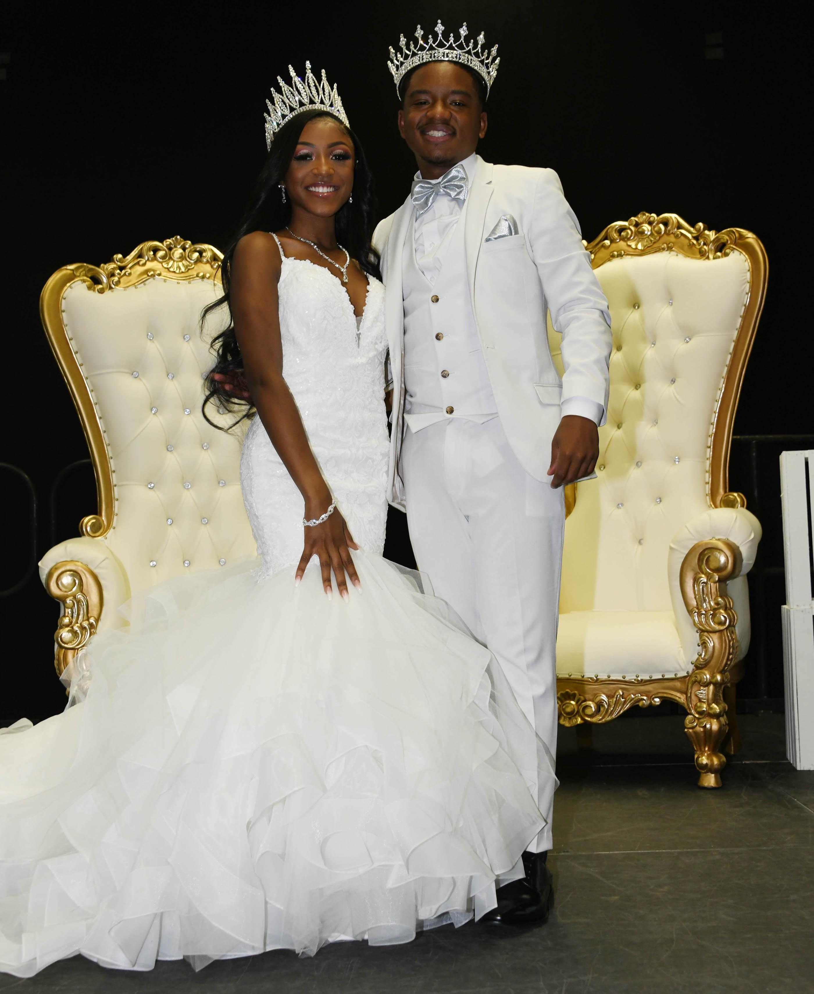 2020-21 Mr. and Miss DSU -- Ashlee Davis and Christian Chapman