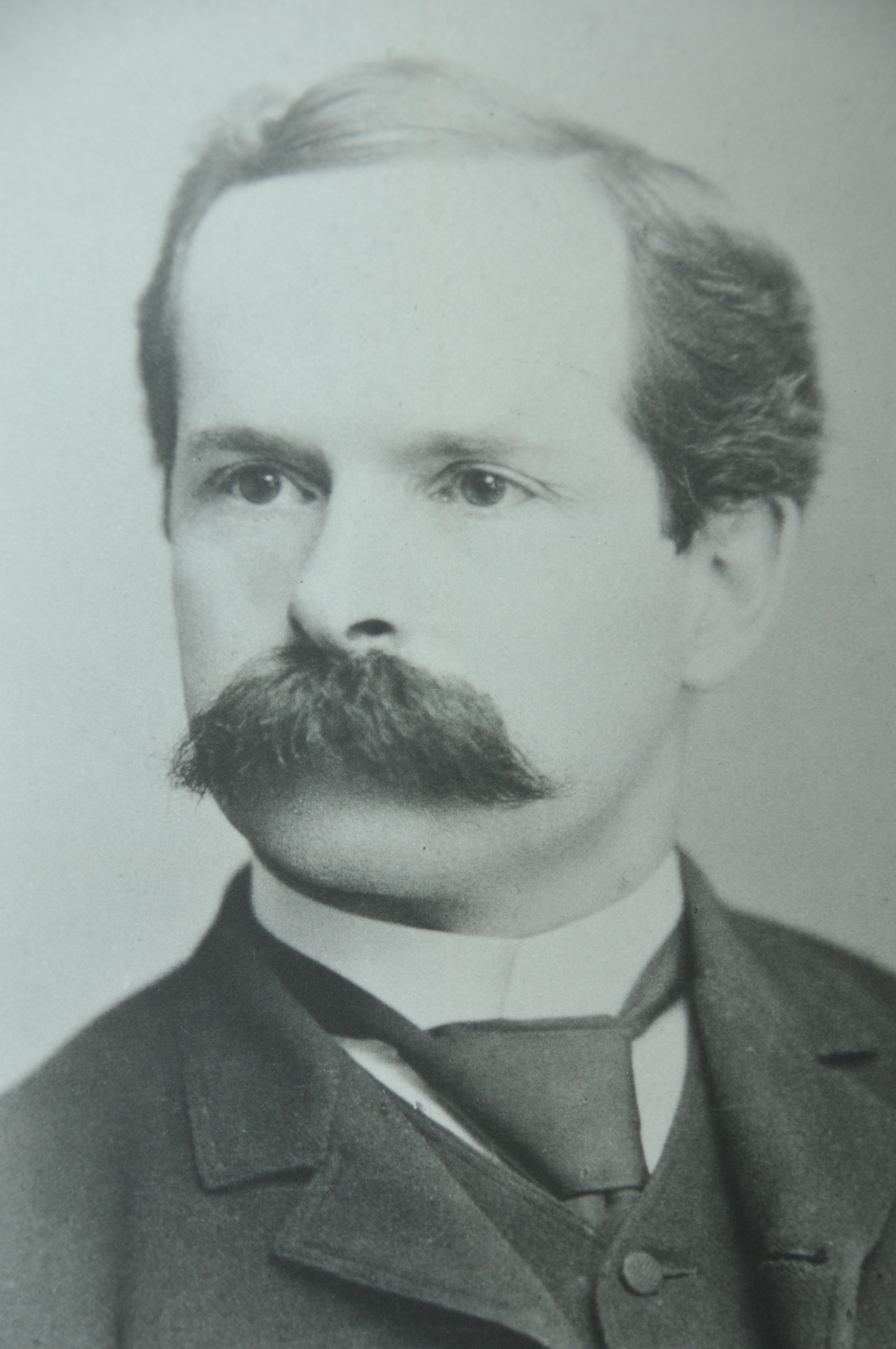 Wesley P. Webb, the College's inaugural president.