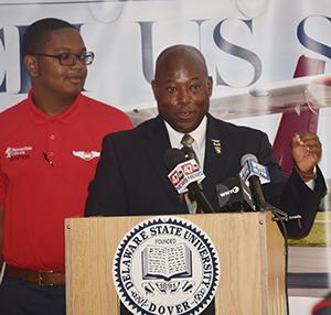 Aviation Program Director Lt. Col. Michael Hales said the new fleet will advance the program greatly.