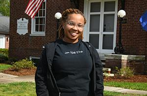 LaNae Powell at the Murphey School