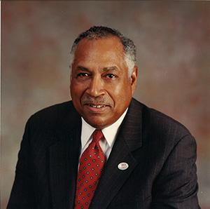 Dr. William B. DeLauder  -- University president 1987-2003, life 1937-2019.