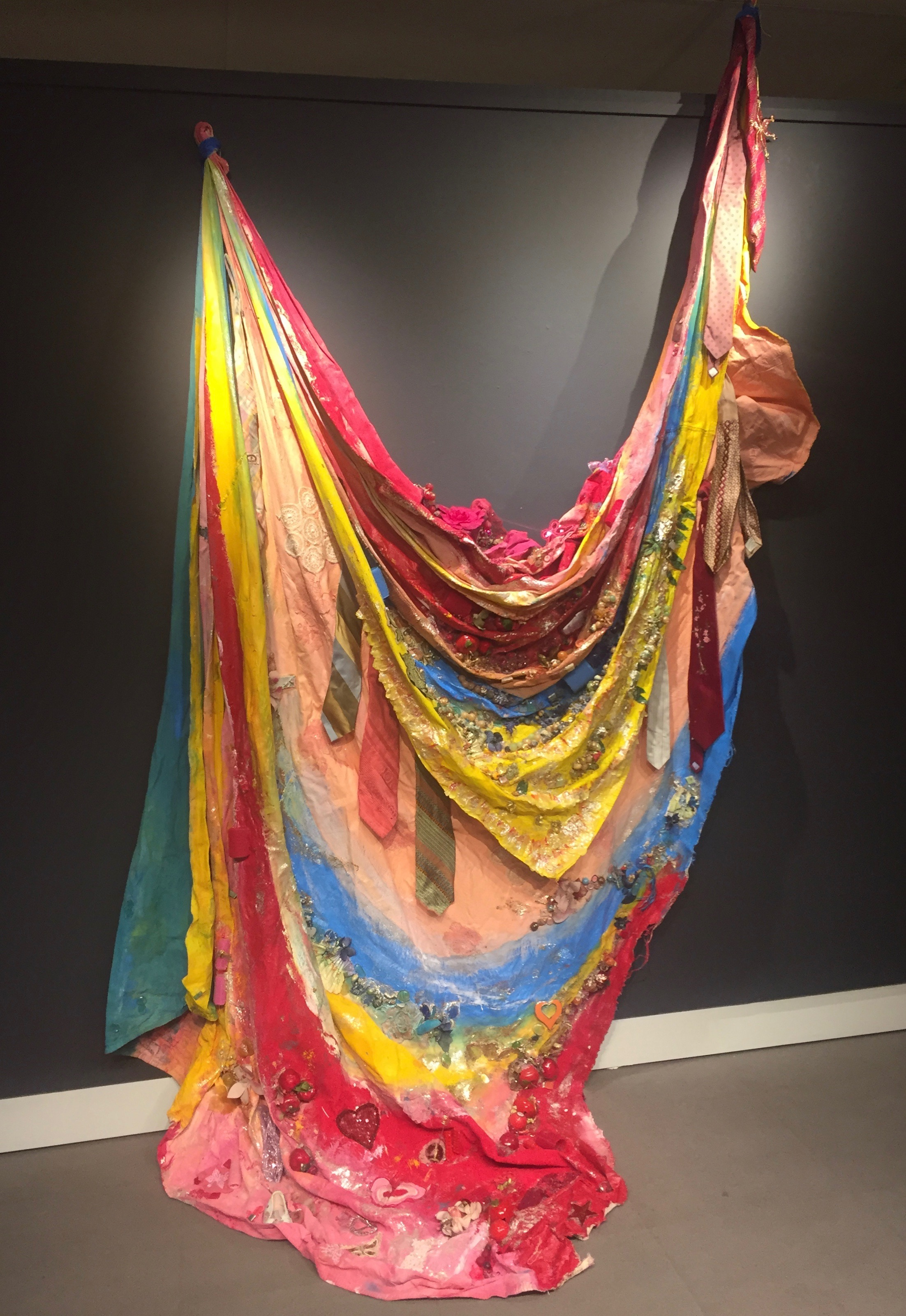 """This is one of the """"altar"""" works that Amber Robles-Gordon is exhibiting at the Arts Center/Gallery"""