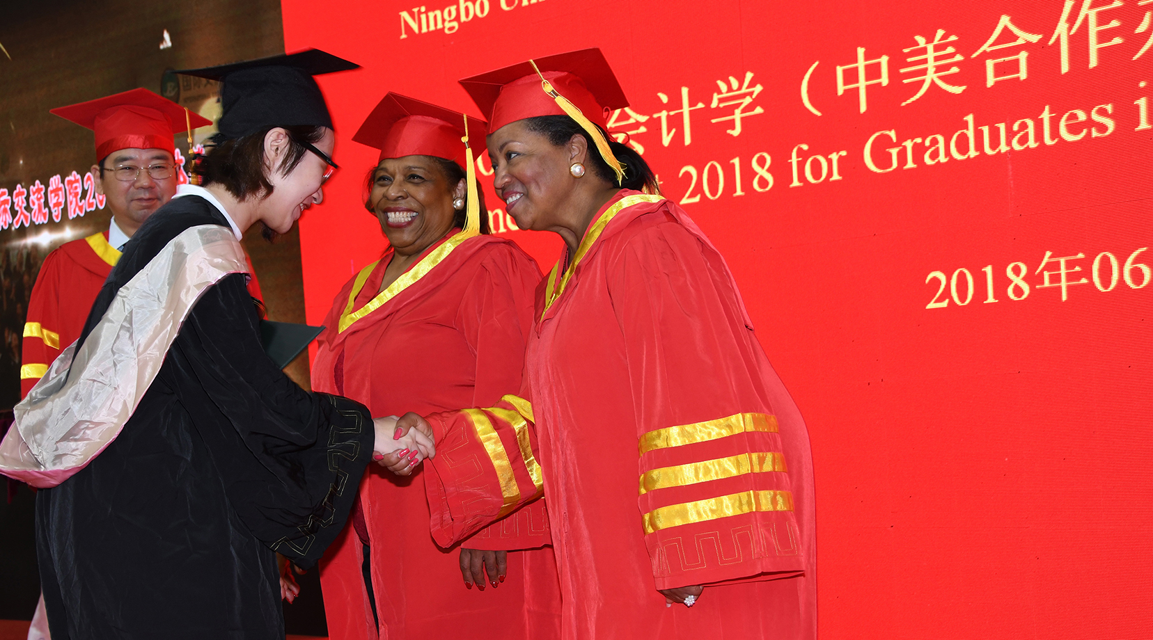 DSU participates in Ningbo Univ. of Technology Commencement