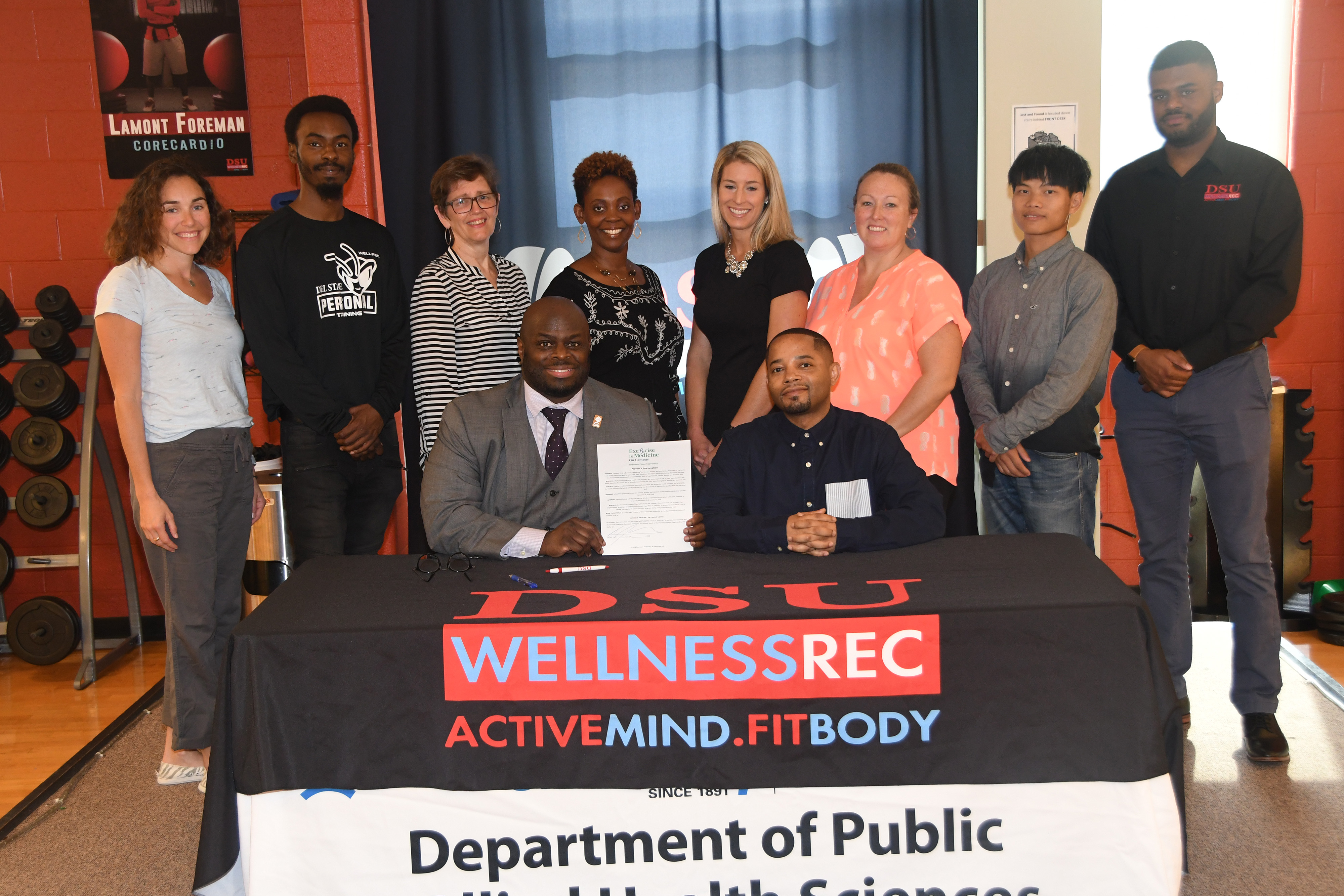 October is Exercise is Medicine Month on campus