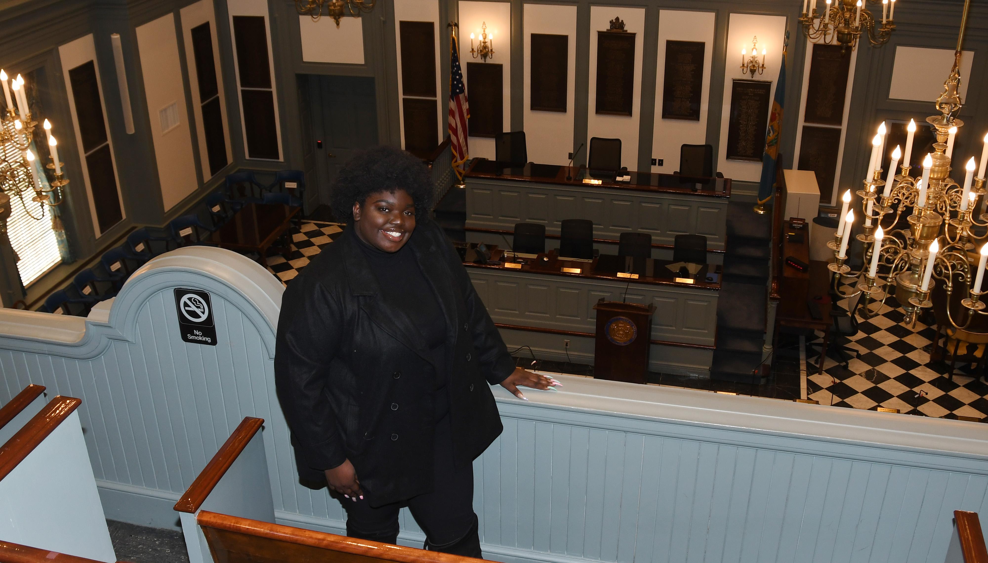 Adriante Carter selected as Legislative Fellow