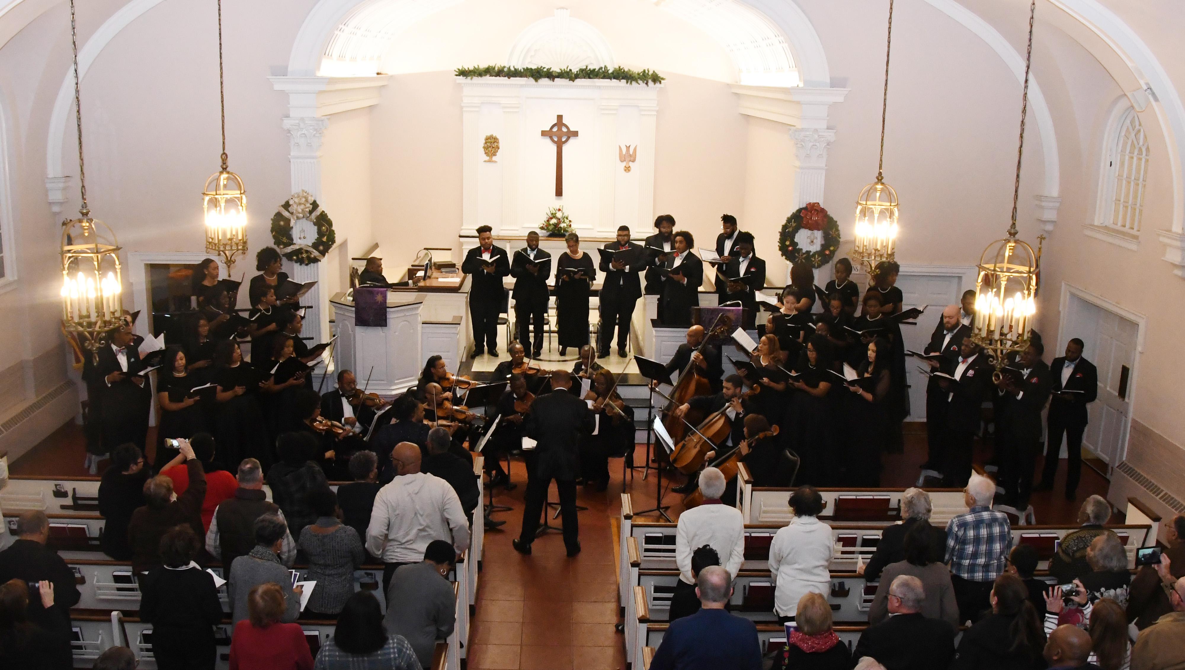 University Concert Choir, Messiah photos