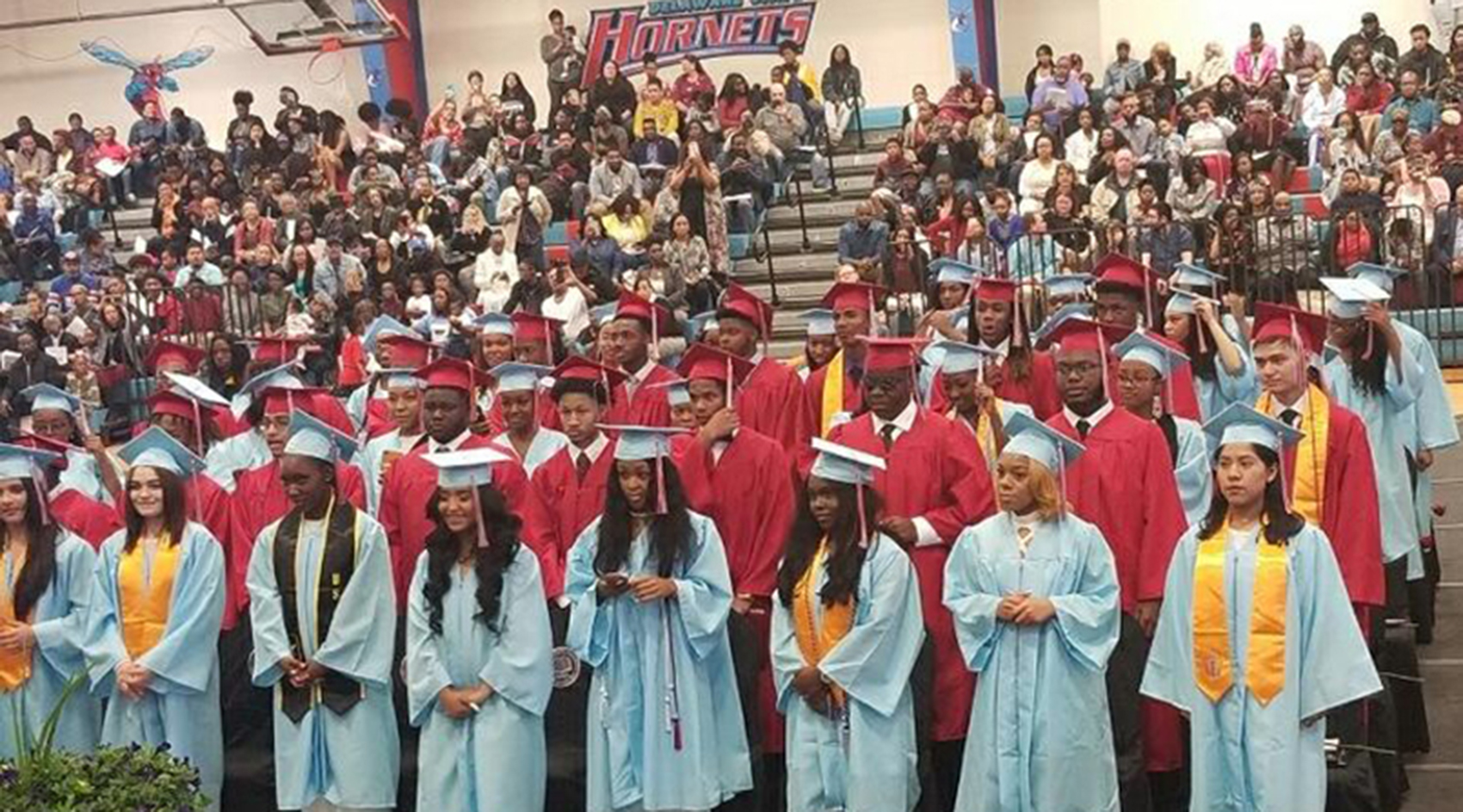 The second graduating class of the Early College High School was comprised of 67 Class of 2019 members.