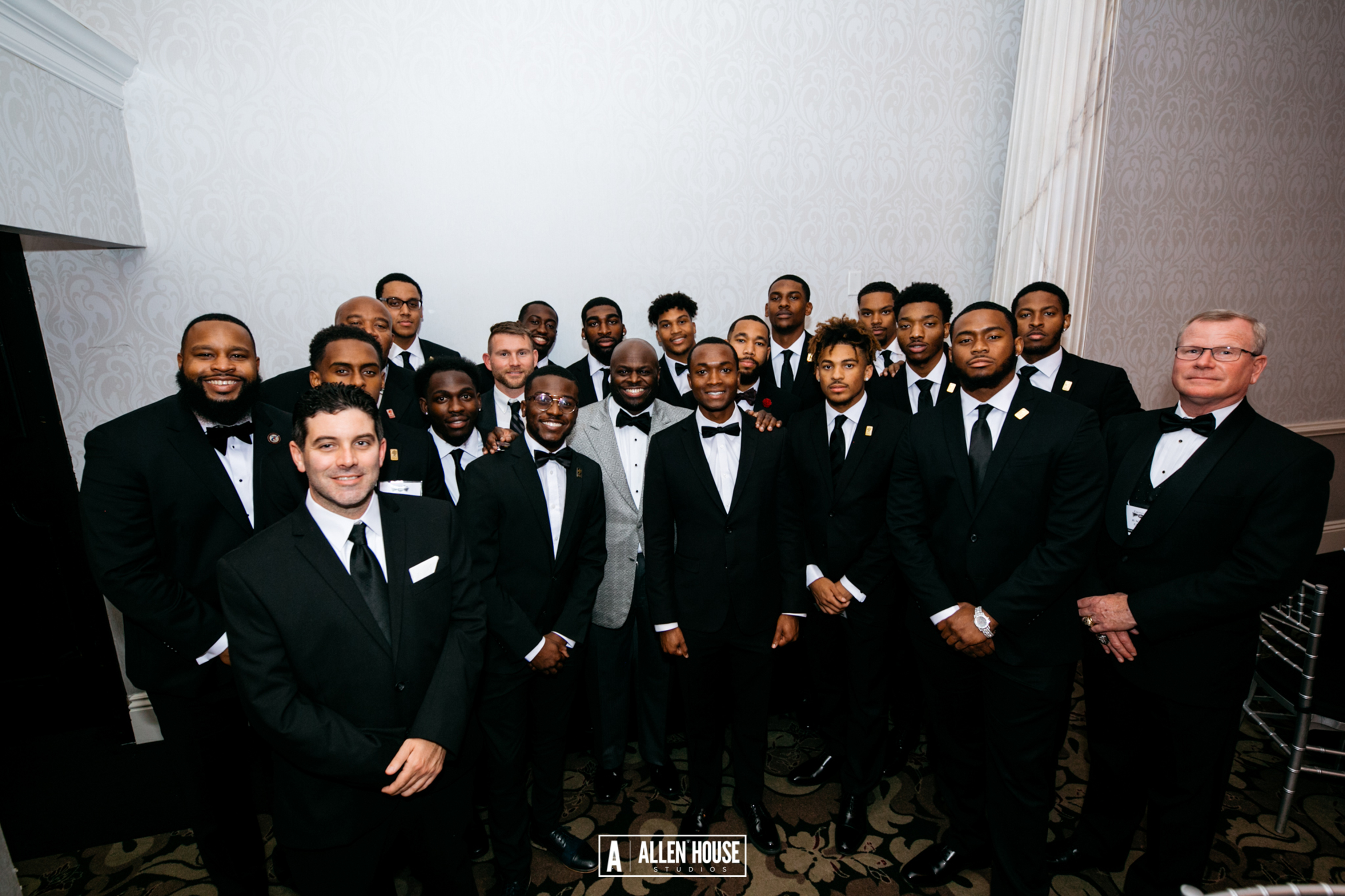 Delaware State University, as evidenced by this photo, was well represented at the 23rd annual Ebony Black Tie Affair event on Nov. 25 at the Waterfall Banquet and Conference Center in Claymont, Del.
