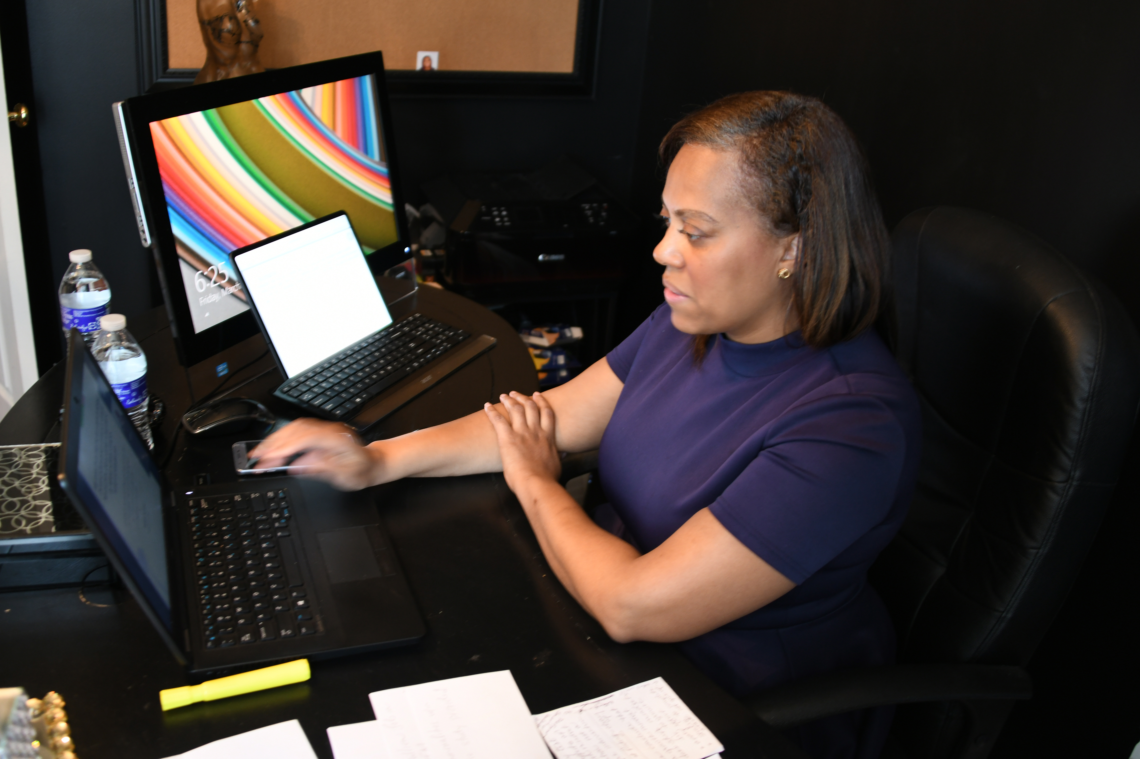 1st-ever Virtual Dissertation Defense at Del State