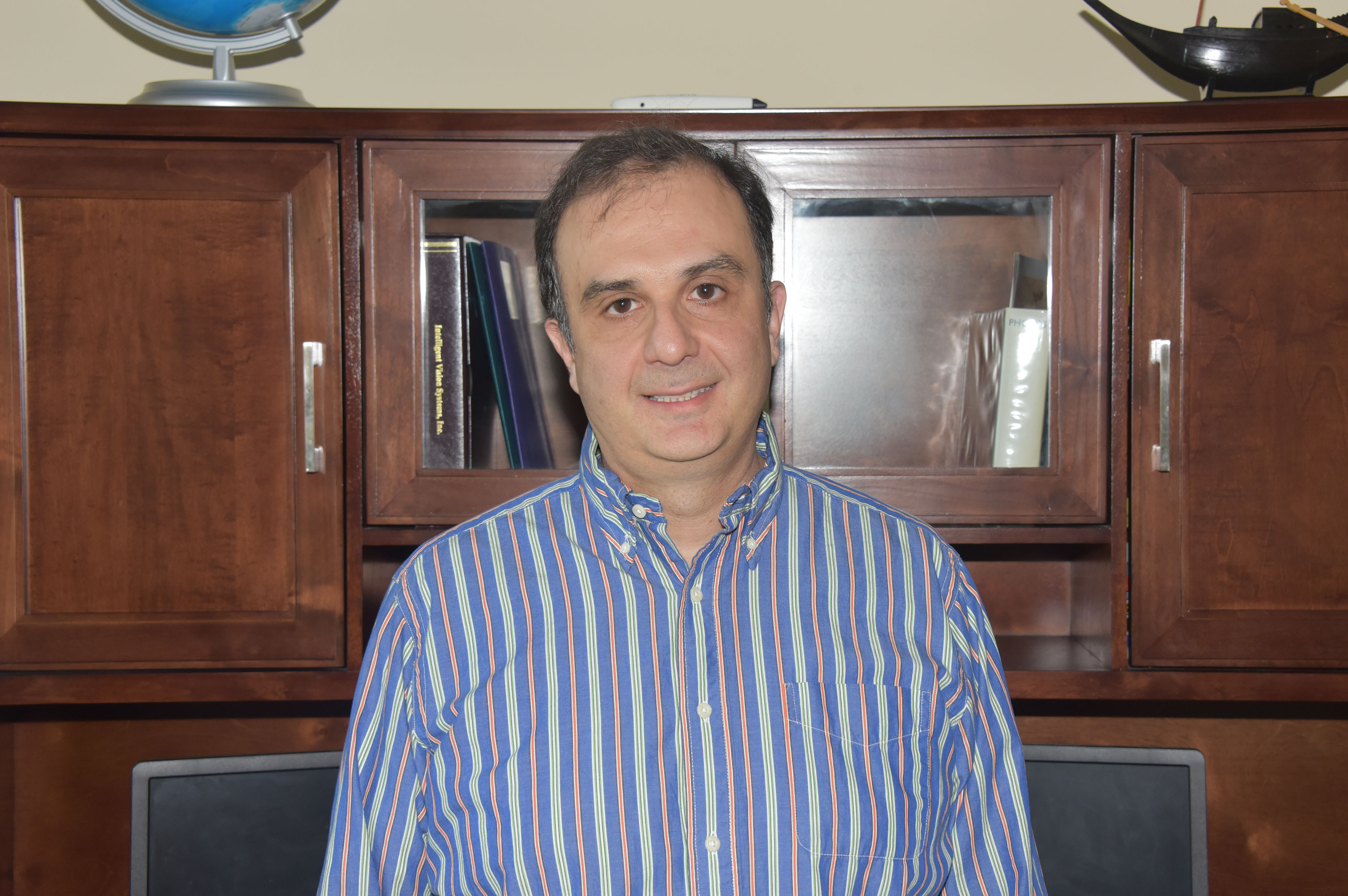 The Department of Defense Army Research Office has awarded Dr. Sokratis Makrogiannis, associate professor of mathematics, a three-year $435,000 grant in support of the development of automated techniques to enable the observation and quantification of cell-cycle progression, cell migration and the growth control of live cells.