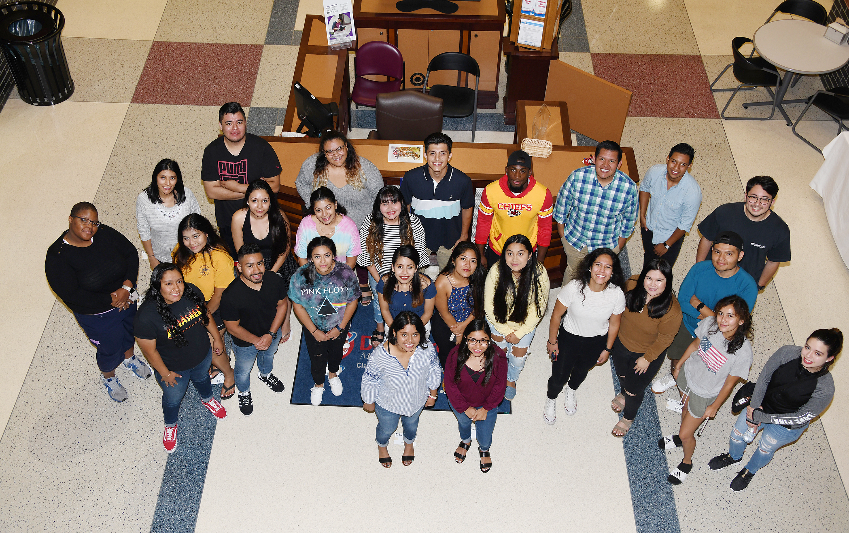 This group of Dreamers were the first to enroll at Delaware State University in 2016 as part of the Opportunity Scholarship Program. On May 16, they became the first Dreamer group to graduate.