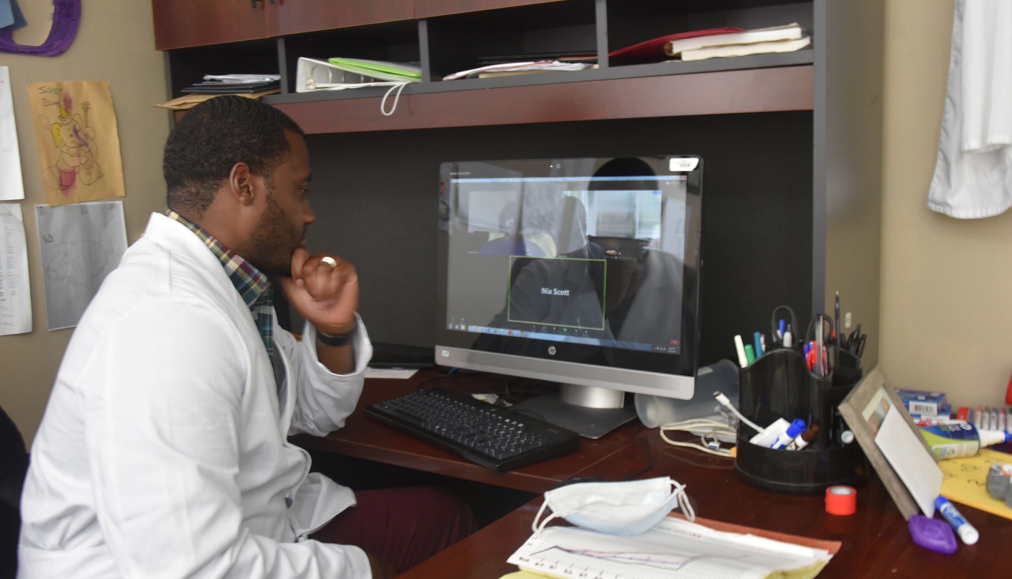 DSU Virtual Research Could Advance COVID vaccine