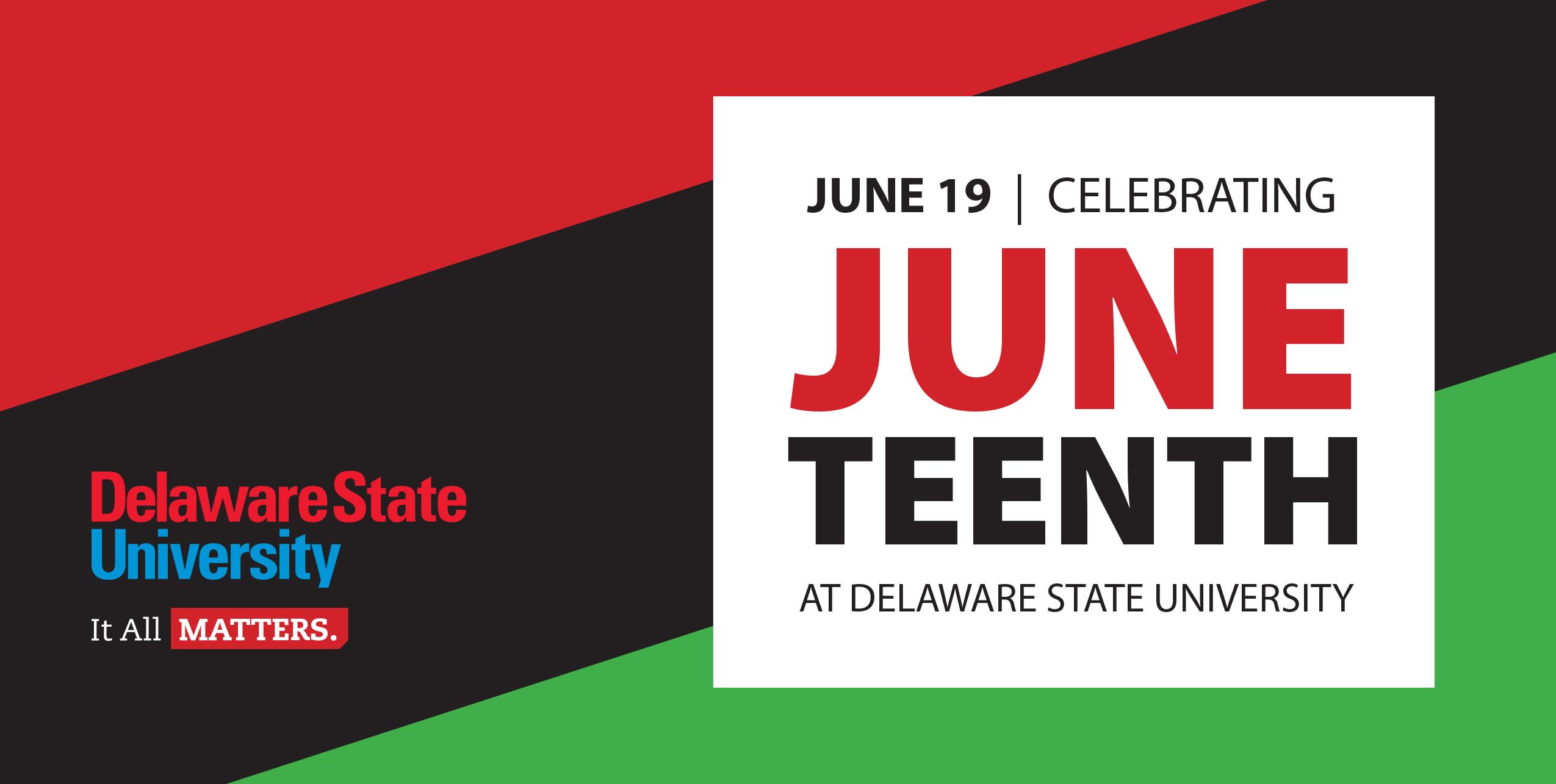 University's Observance of Juneteenth on June 19
