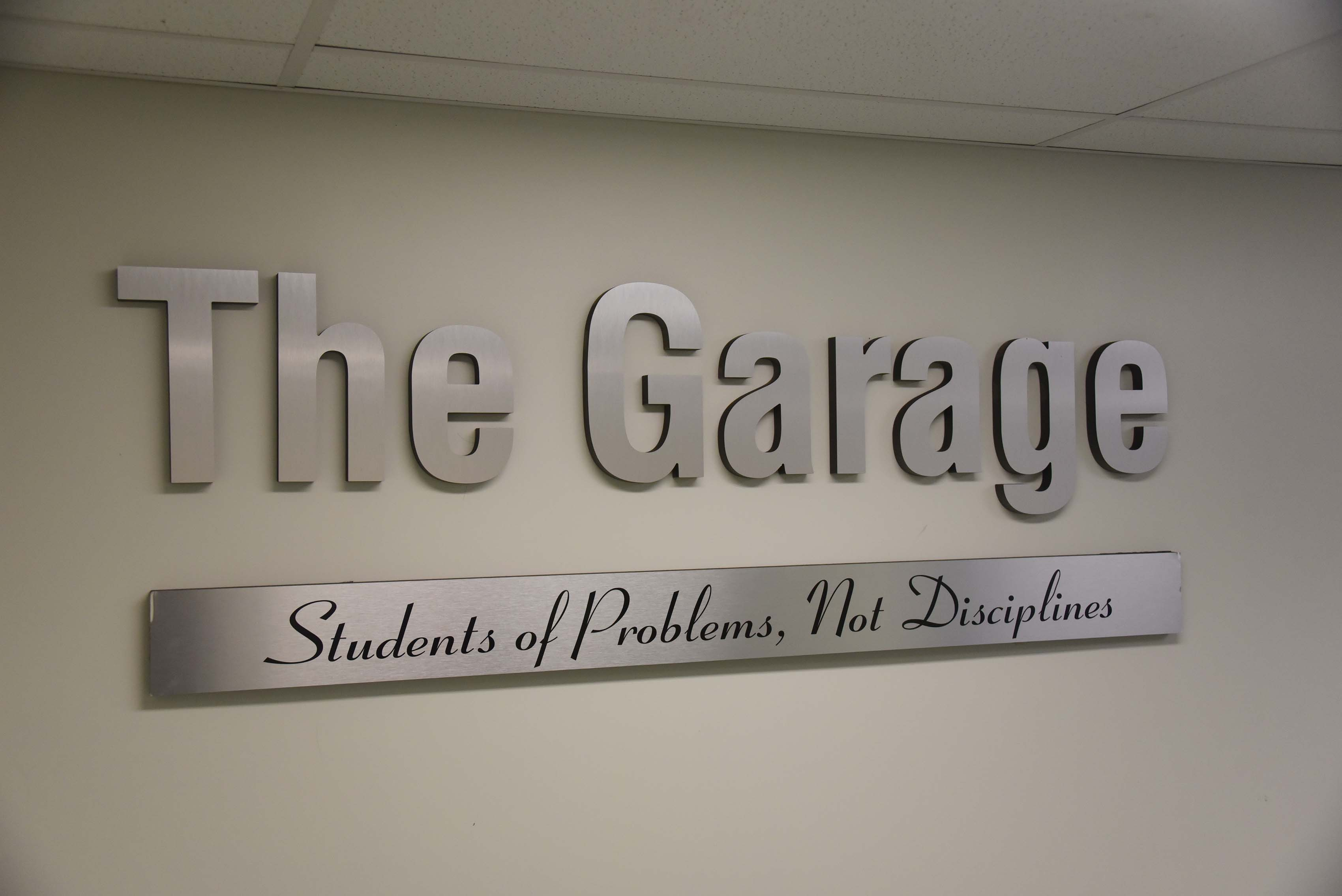 The College of Business has received a $70,000 Rural Business Development Grant to launch a new innovation -- The Garage.