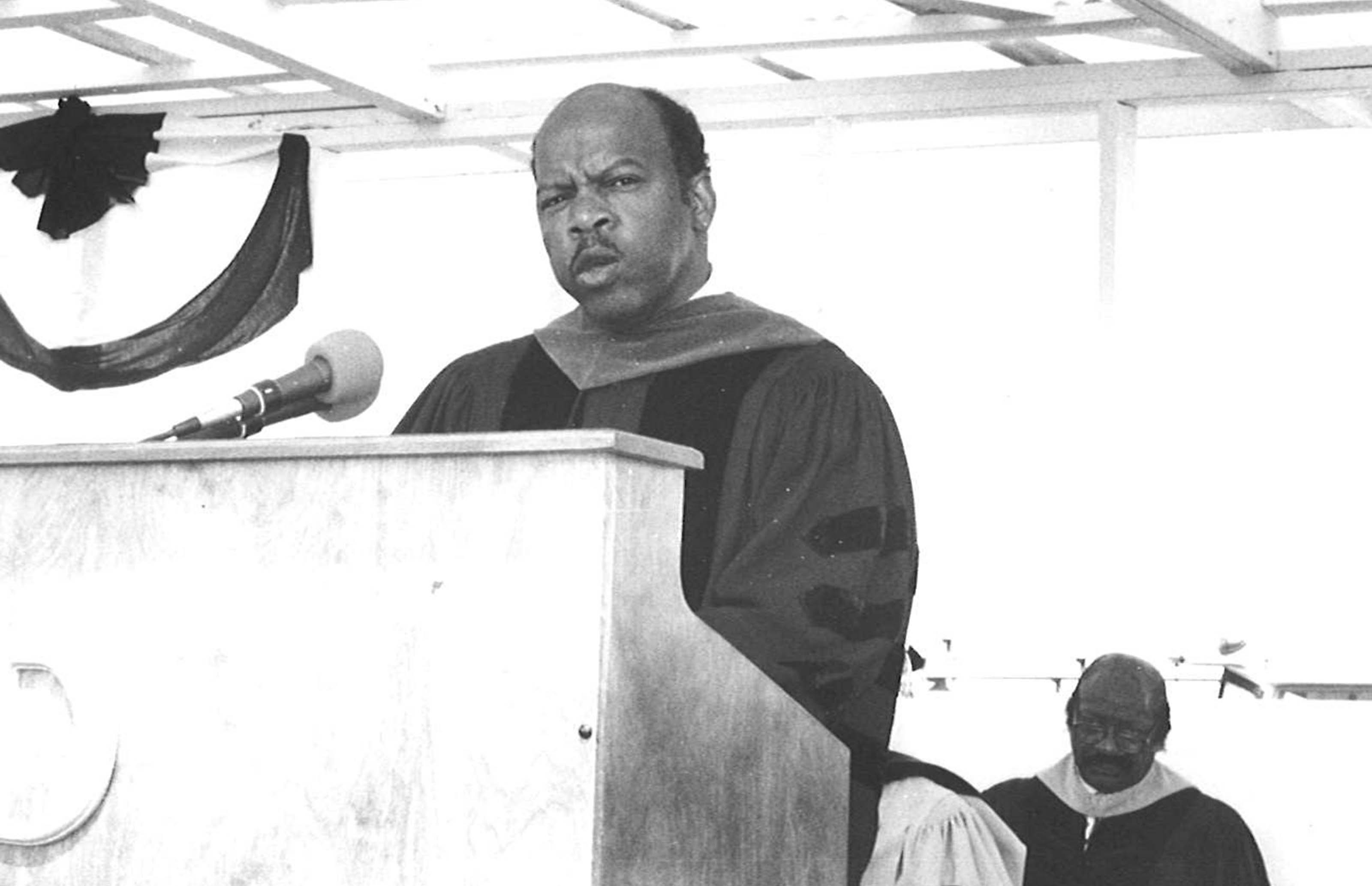 Delaware State University History Series -- John Lewis at Del State