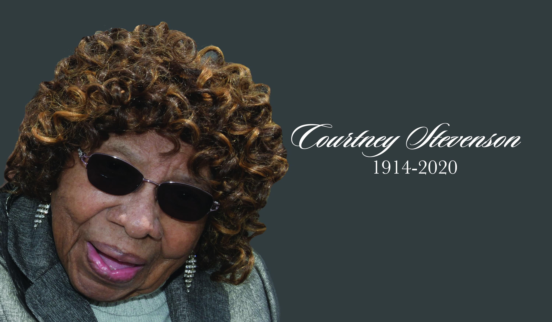 University mourns passing of alumna Courtney Stevenson, age 106