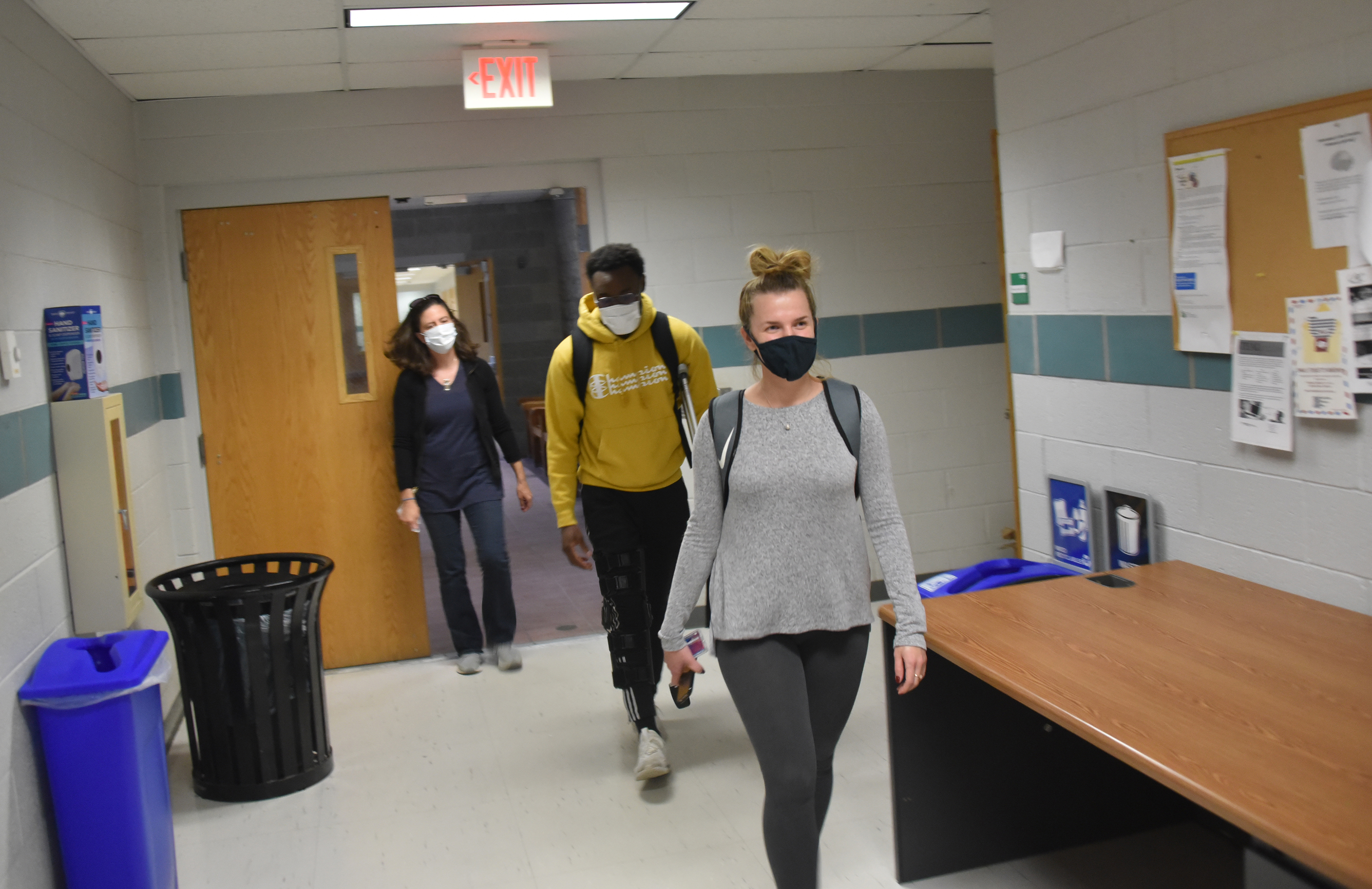 Univ. kept safe during pandemic; latest enrollment figures