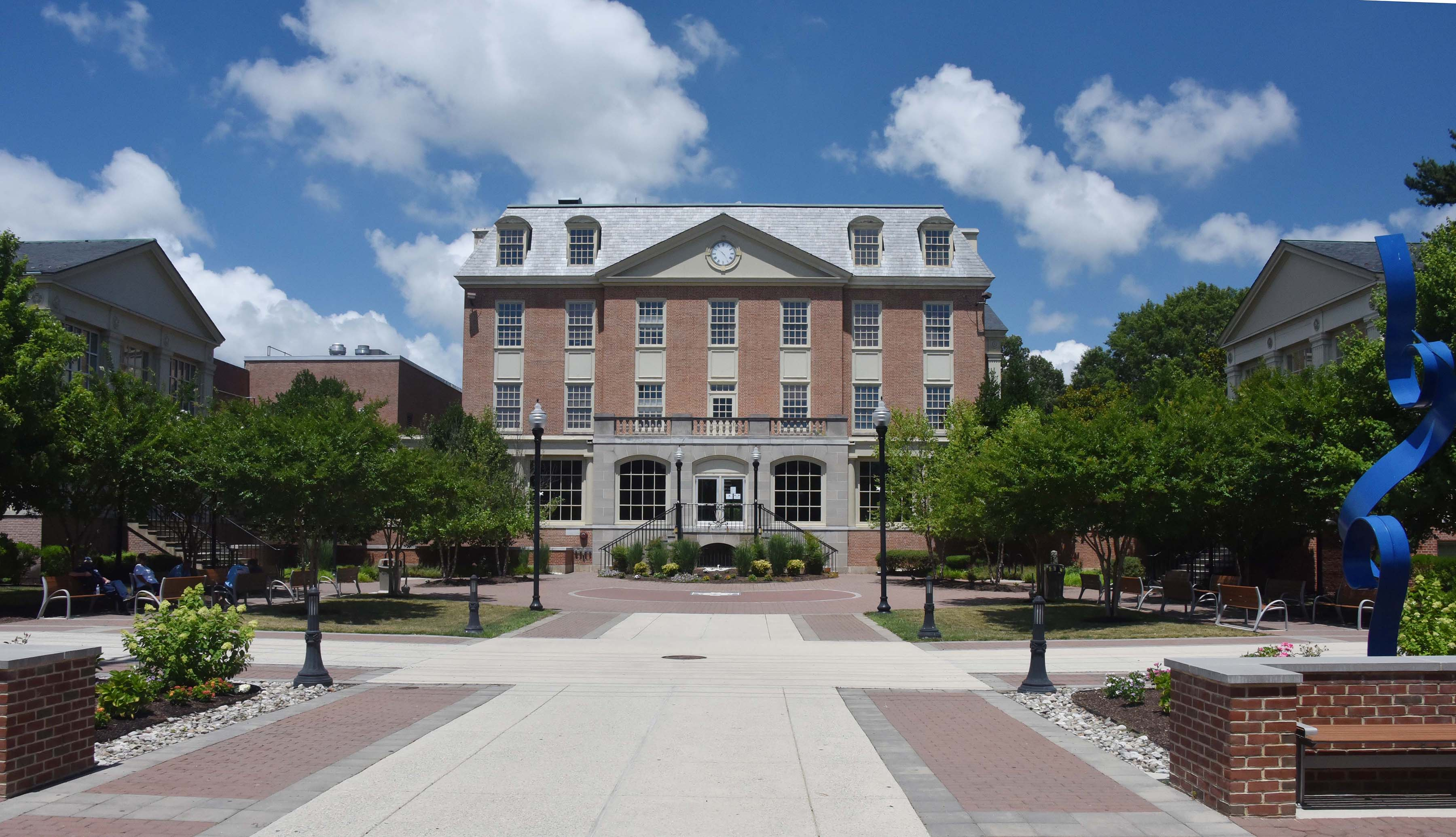 The Longwood award will help Delaware State University cover the transition costs in connection with its acquisition of Wesley College in Dover. Once finalized, Wesley's DuPont Hall (pictured) will be one of the Wesley properties that will become part of Del State.