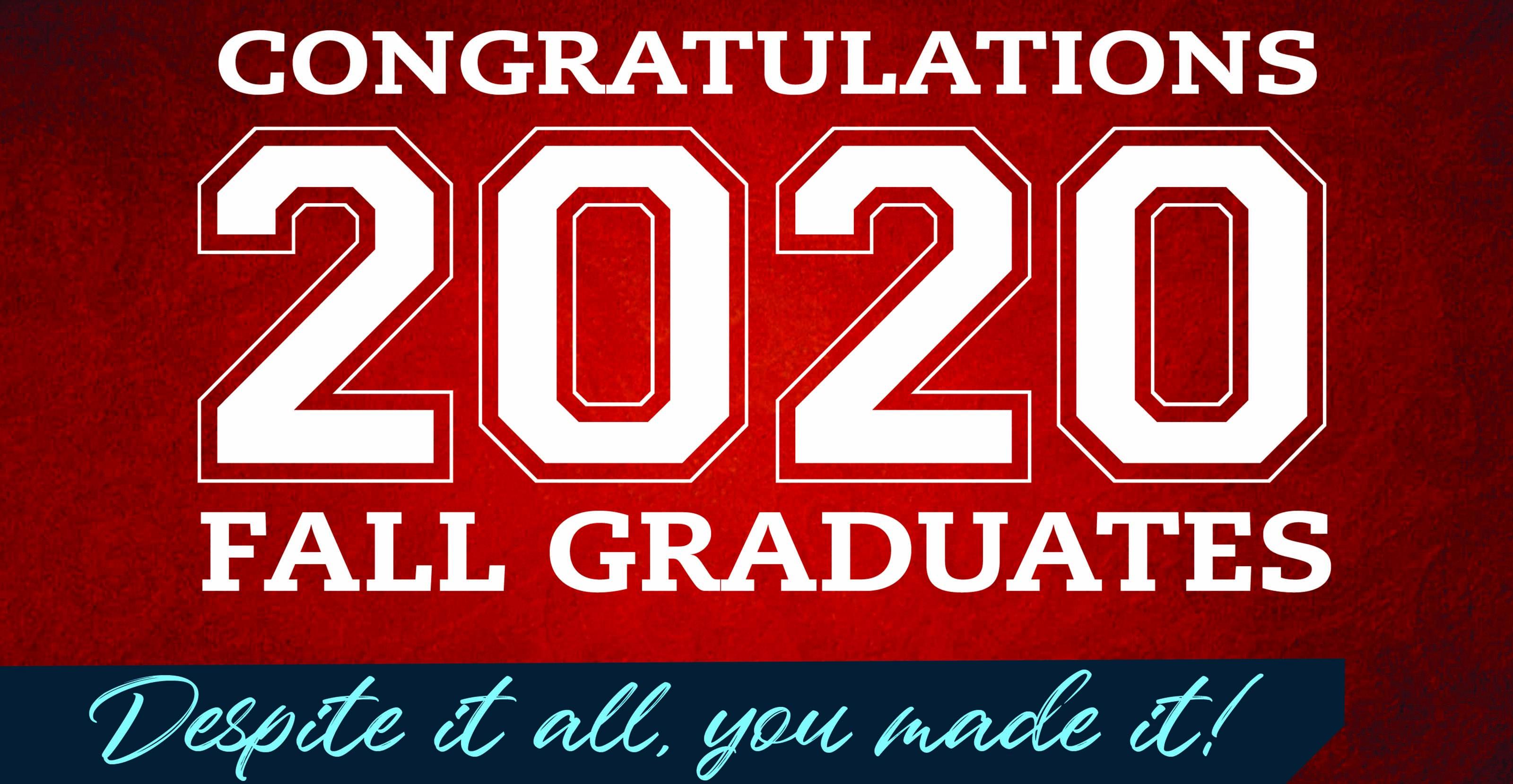 Del State celebrates the fall 2020 graduates