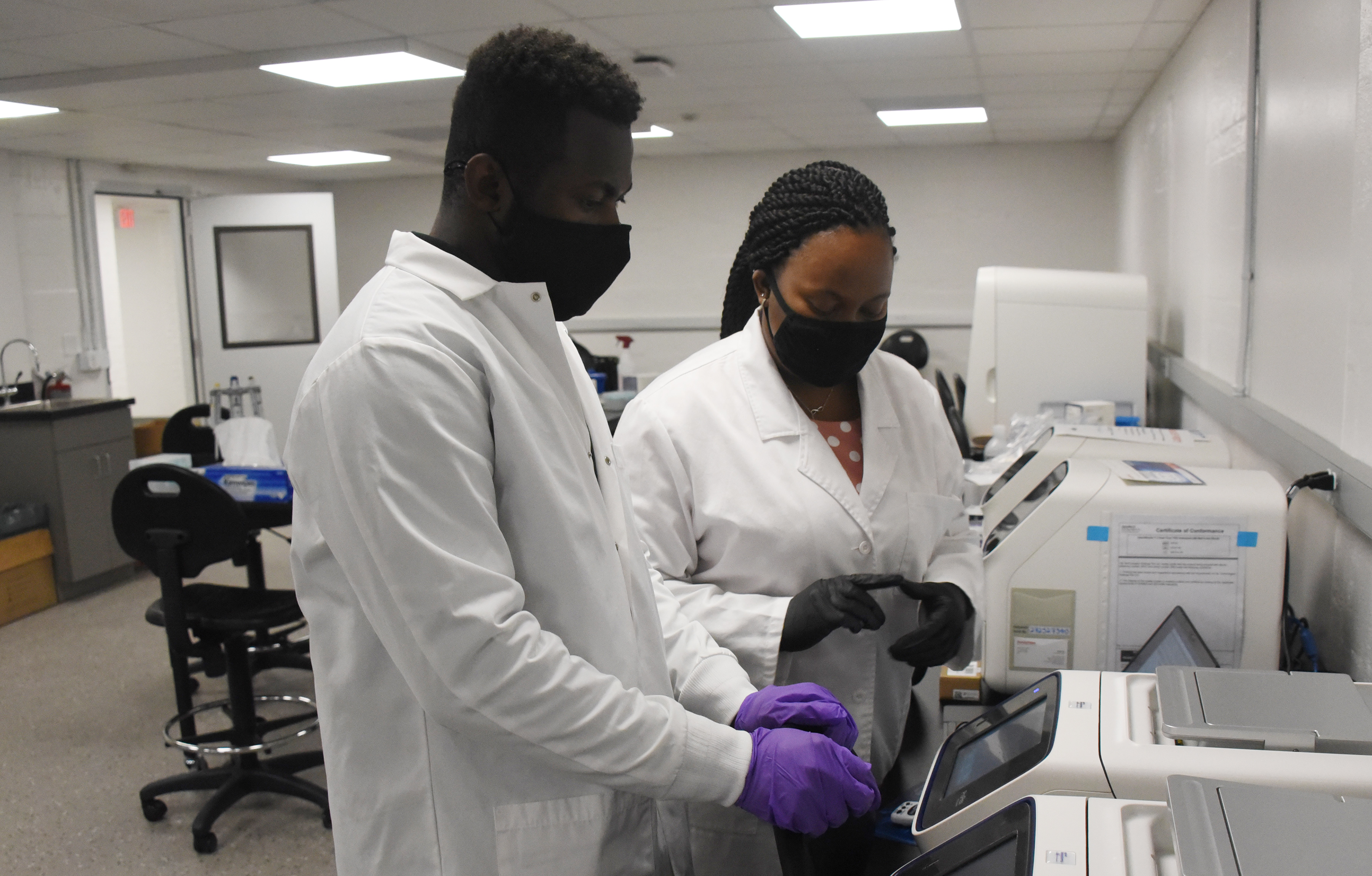 University's Molecular Diagnostic Laboratory launched
