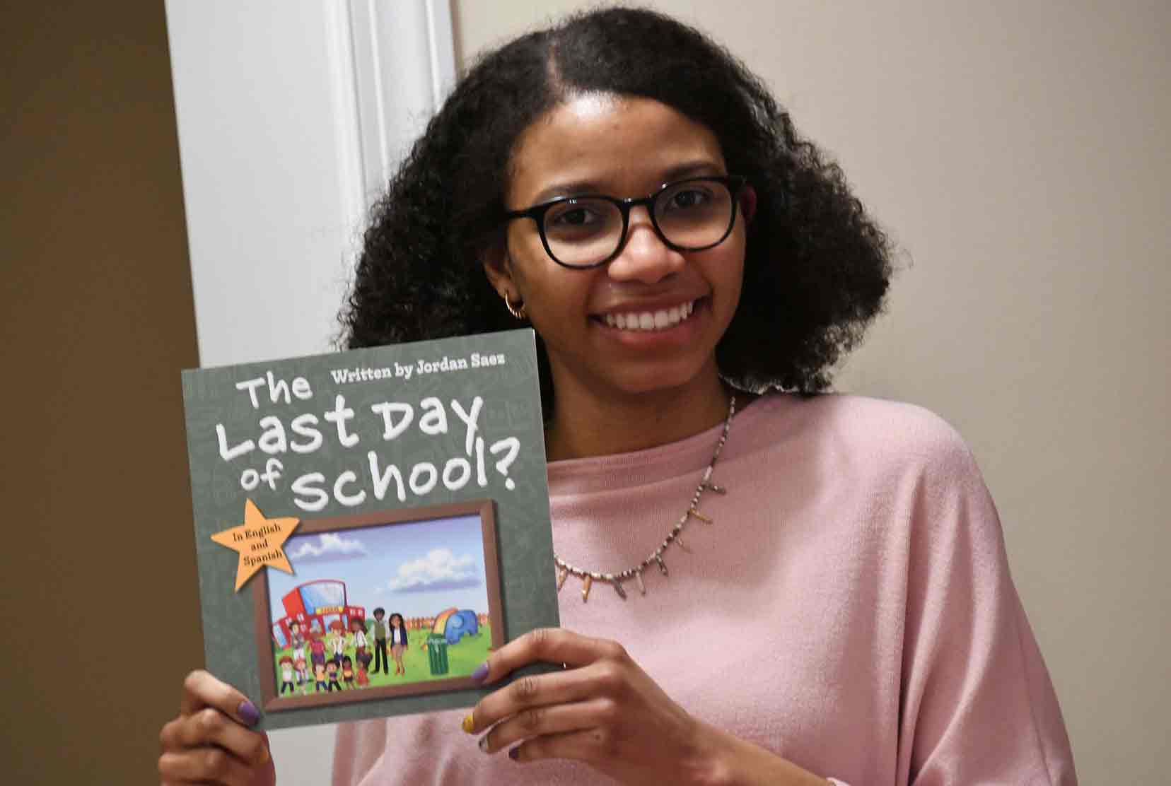 Del State graduate student authors bilingual children's book