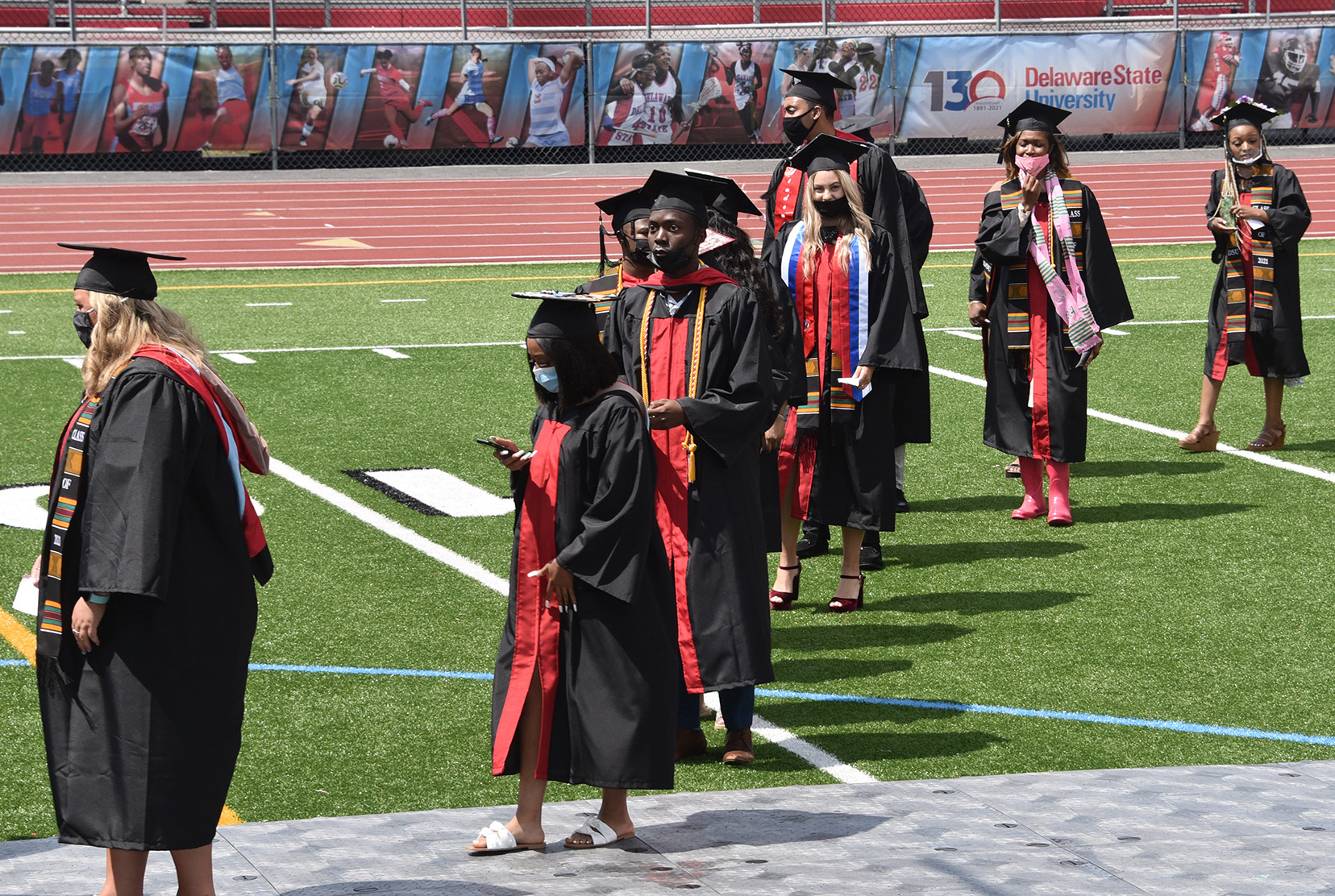 The University has provide financial assistance to more than 220 graduates who experienced financial hardship due to COVID-19. The financial assistance cancels their outstanding debt to the University, removing any delay in receiving their diplomas.