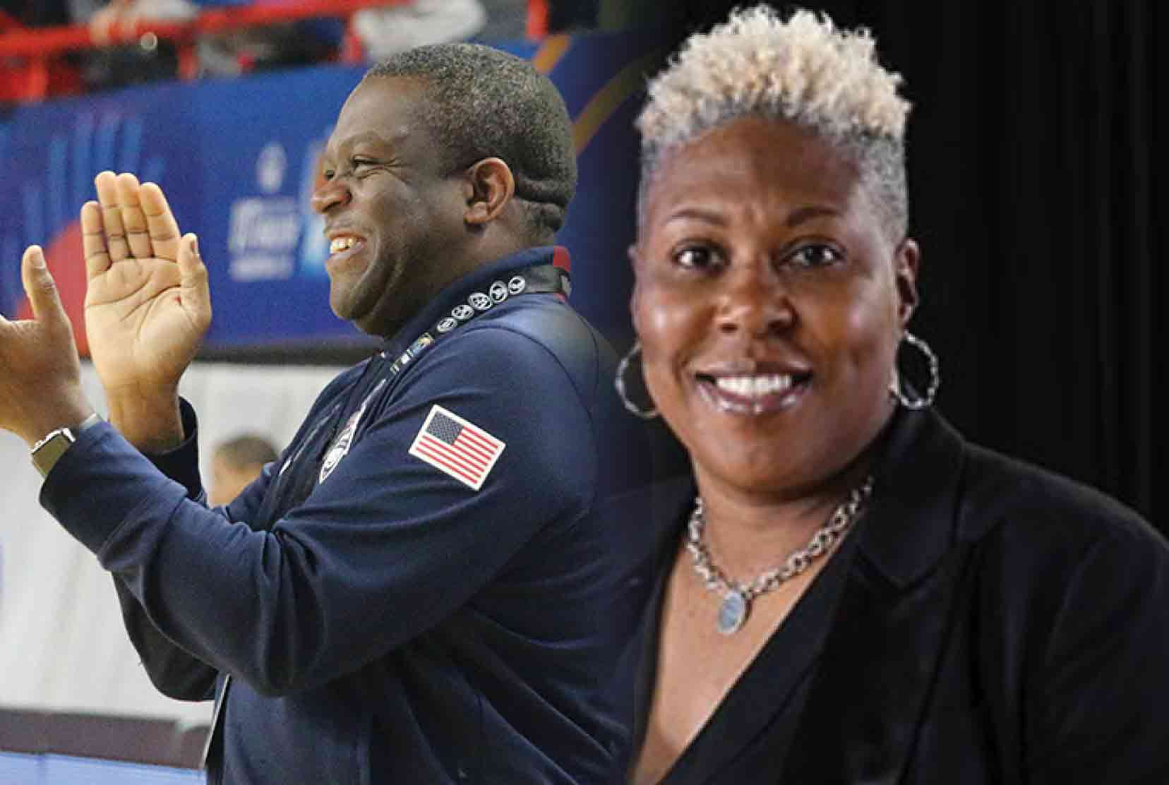 """The University has hired Stan Waterman, former head coach at the Sanford School, and Yconda """"EC"""" Hill, a former WNBA player, as the new head coaches of the Hornet Men and Lady Hornet basketball teams."""