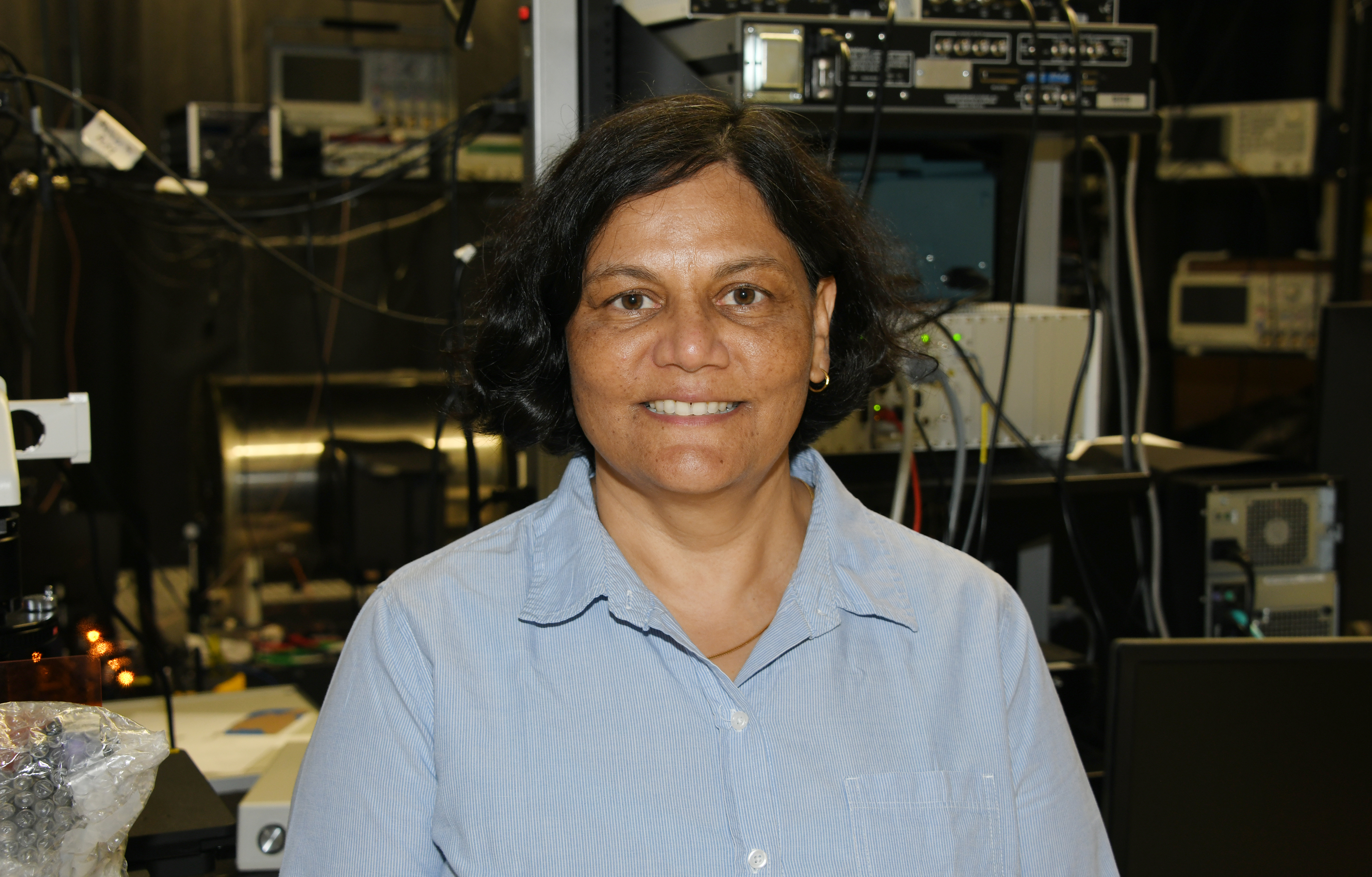 Del State's Dr. Tripathi honored with $100,000 Quantum Award
