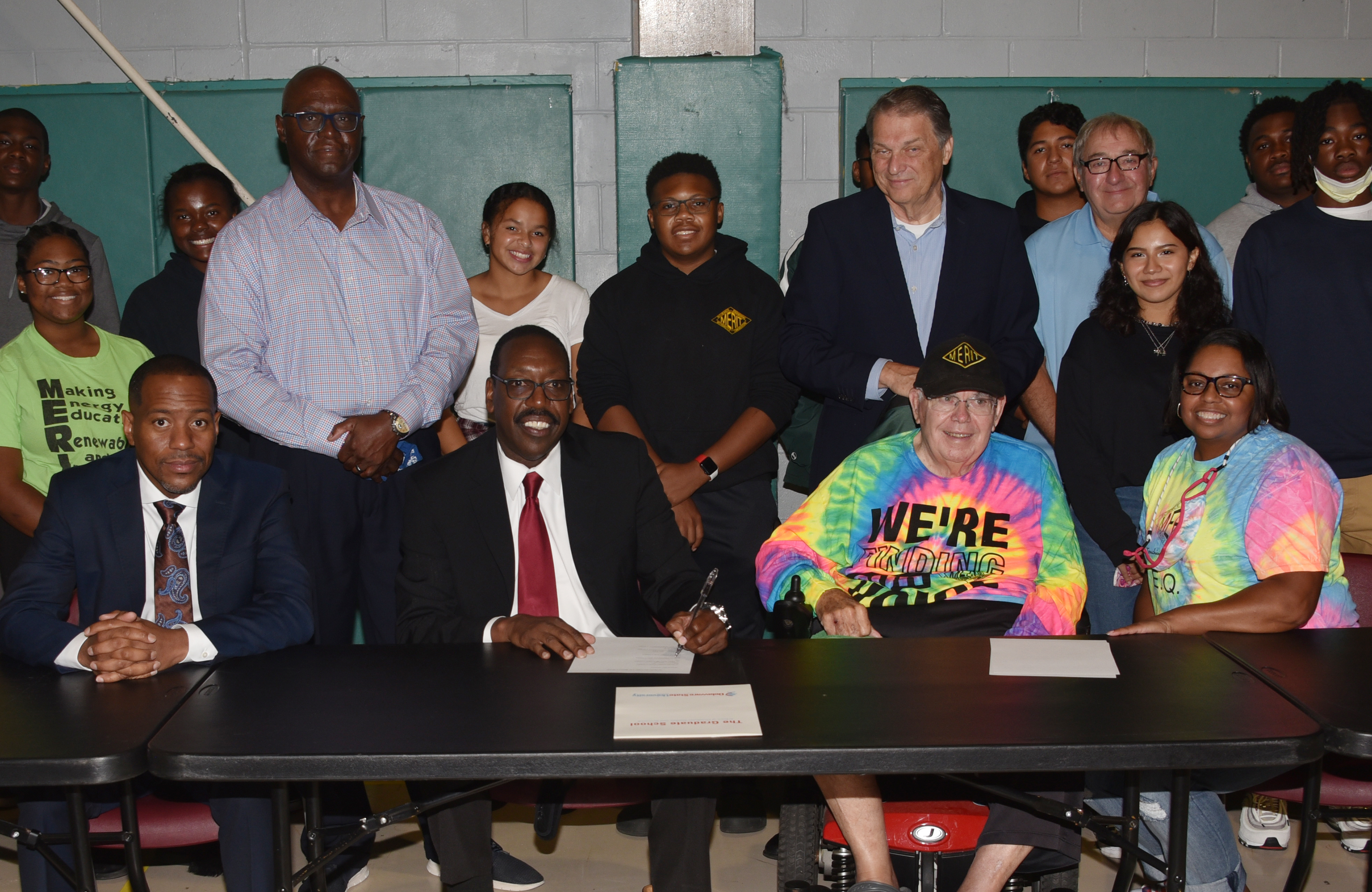 Del State signs agreement with Sussex County's MERIT org.