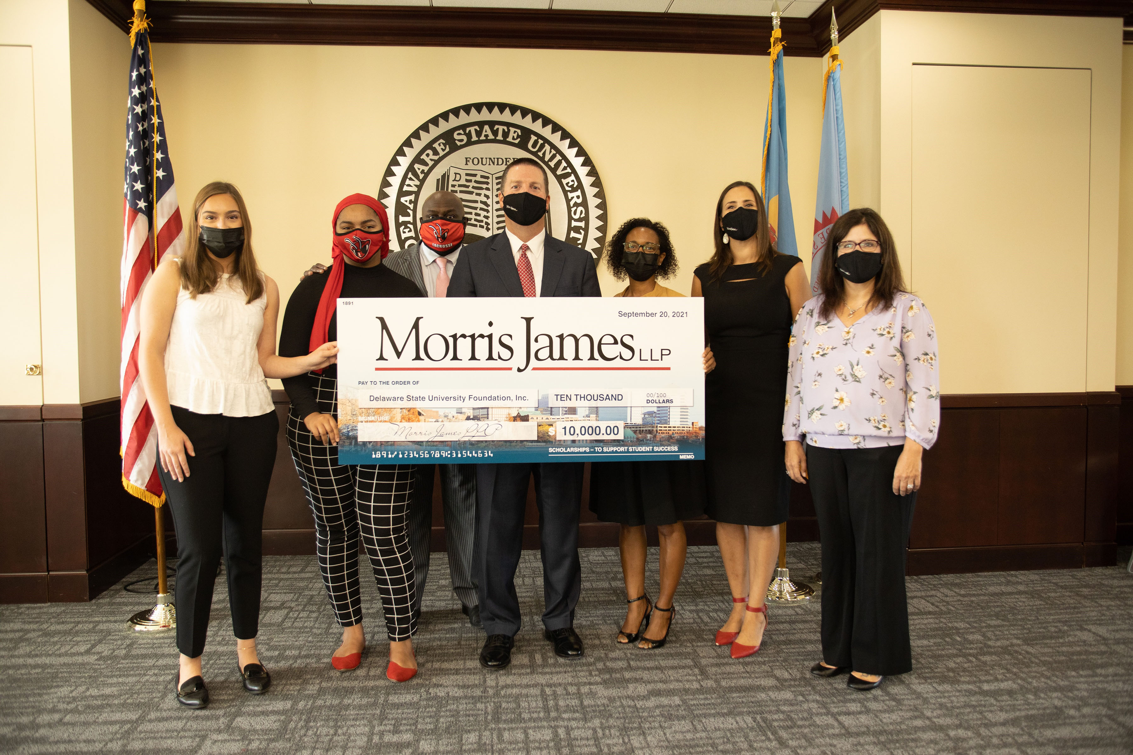 Morris James gives financial support for Law Studies students